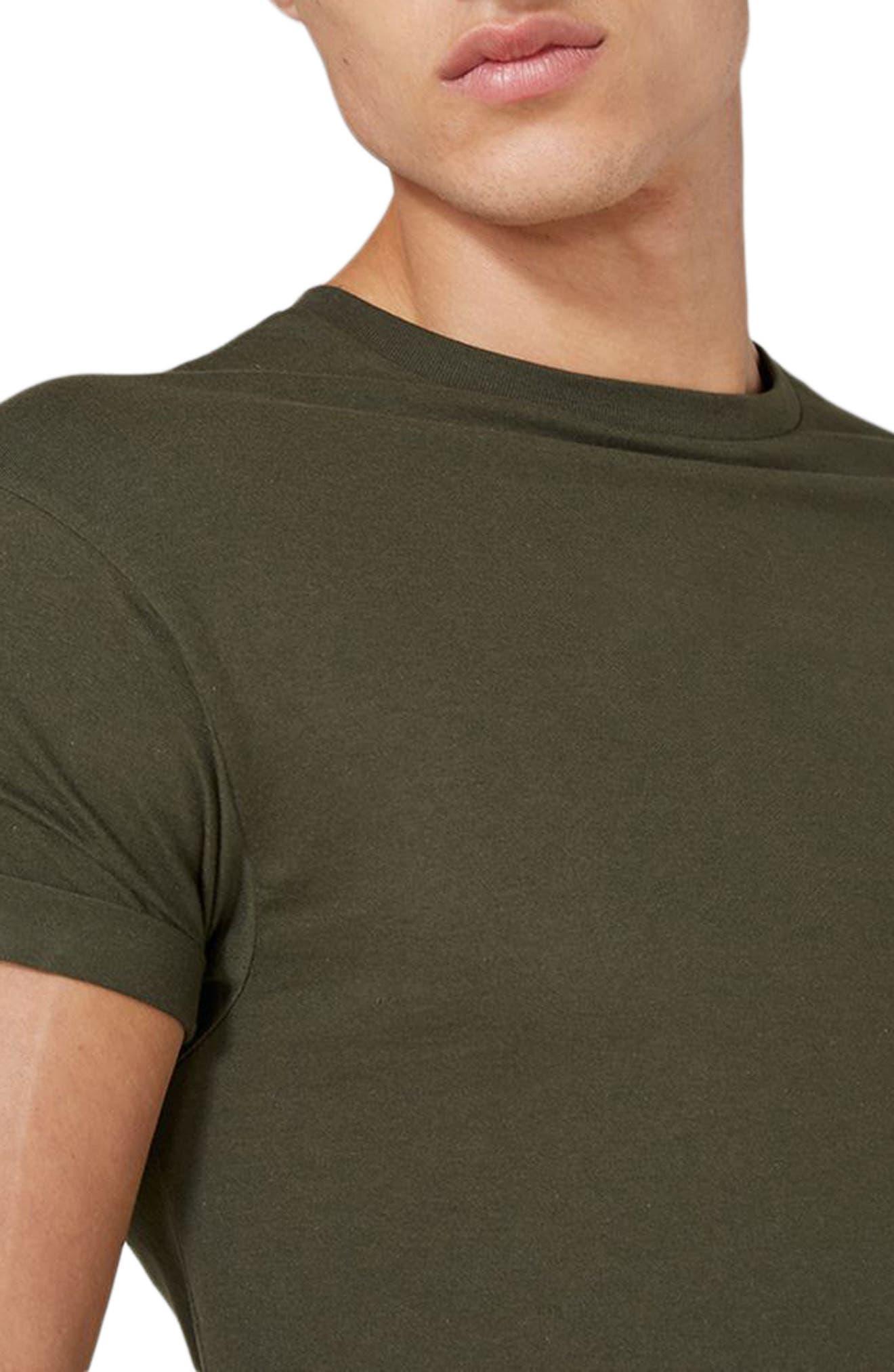 Alternate Image 3  - Topman Muscle Fit Roller T-Shirt