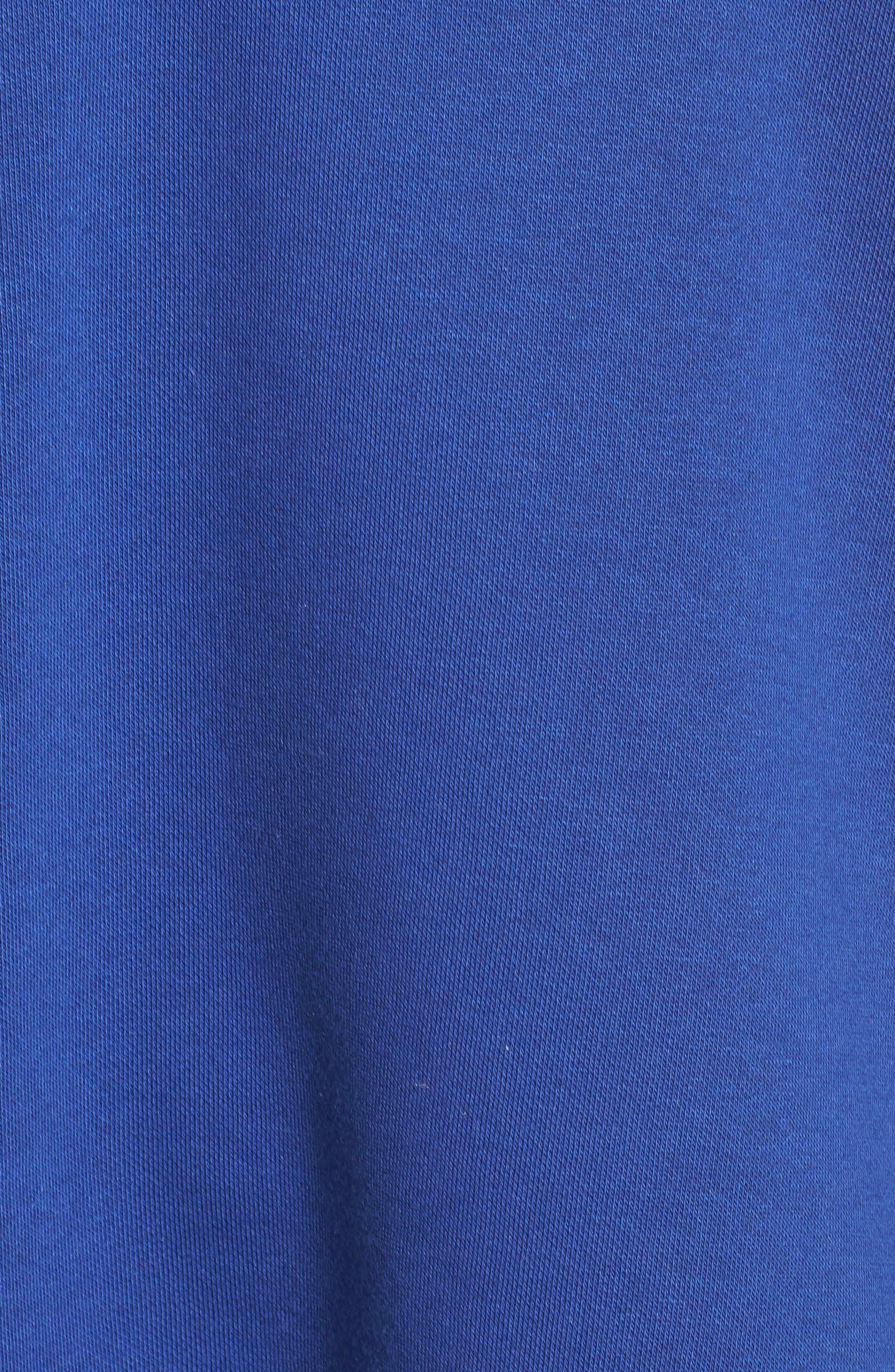 Archive No. 1 Oversize Hoodie,                             Alternate thumbnail 6, color,                             Blue Depths