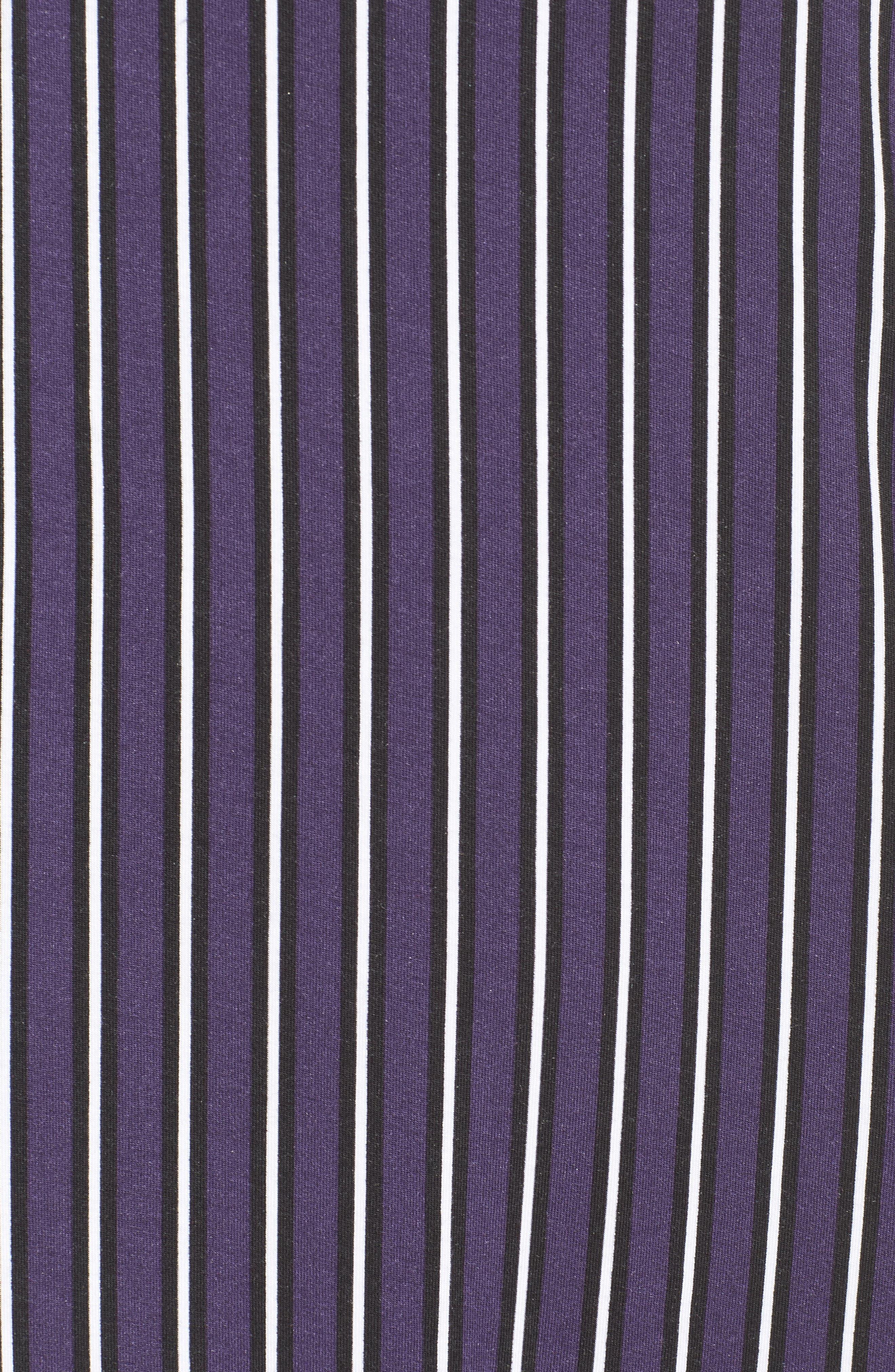 Alternate Image 6  - DKNY Stripe Jersey Sleep Shirt