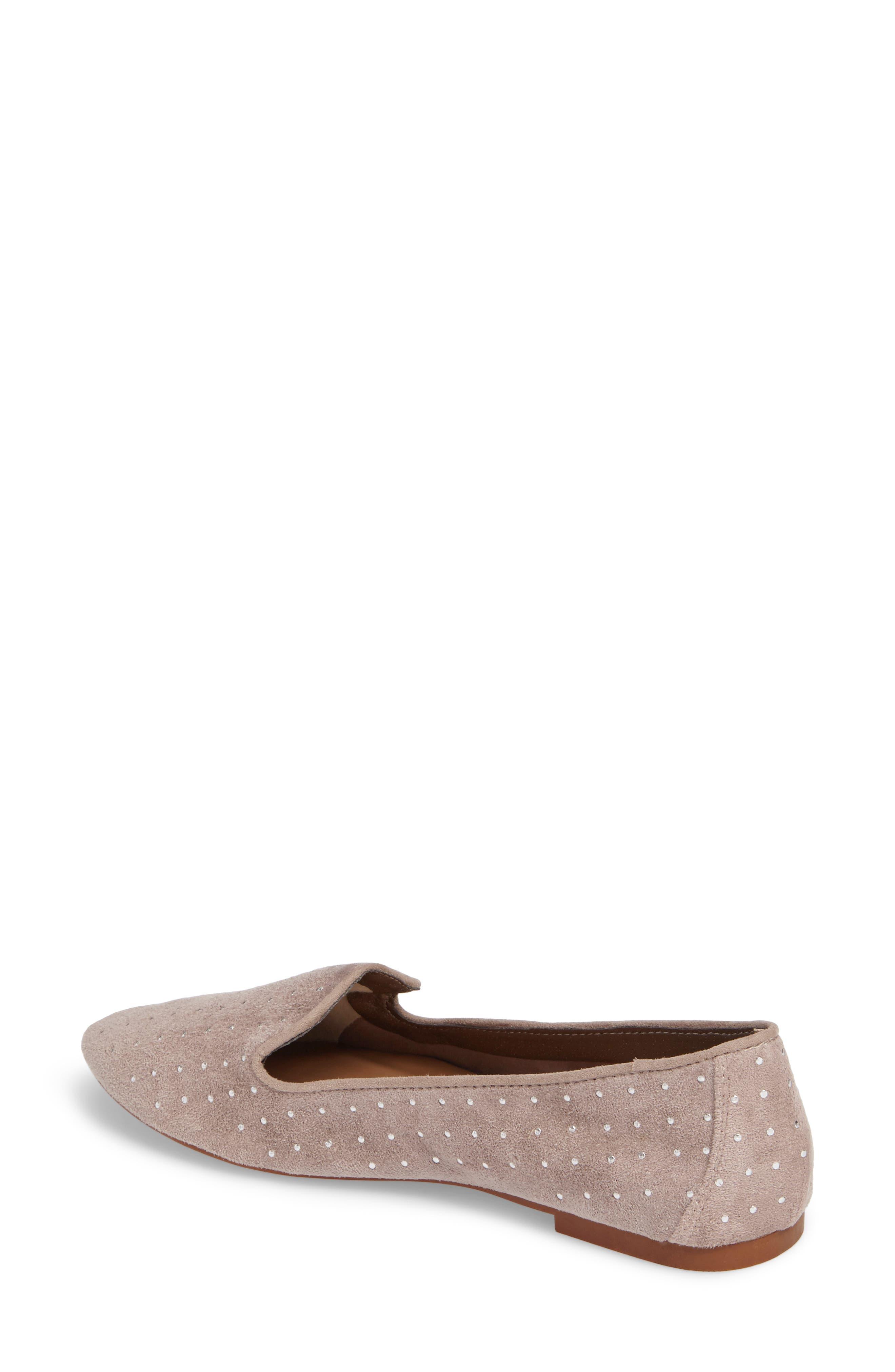 Alternate Image 2  - Topshop Sophie Studded Slip-On Loafers