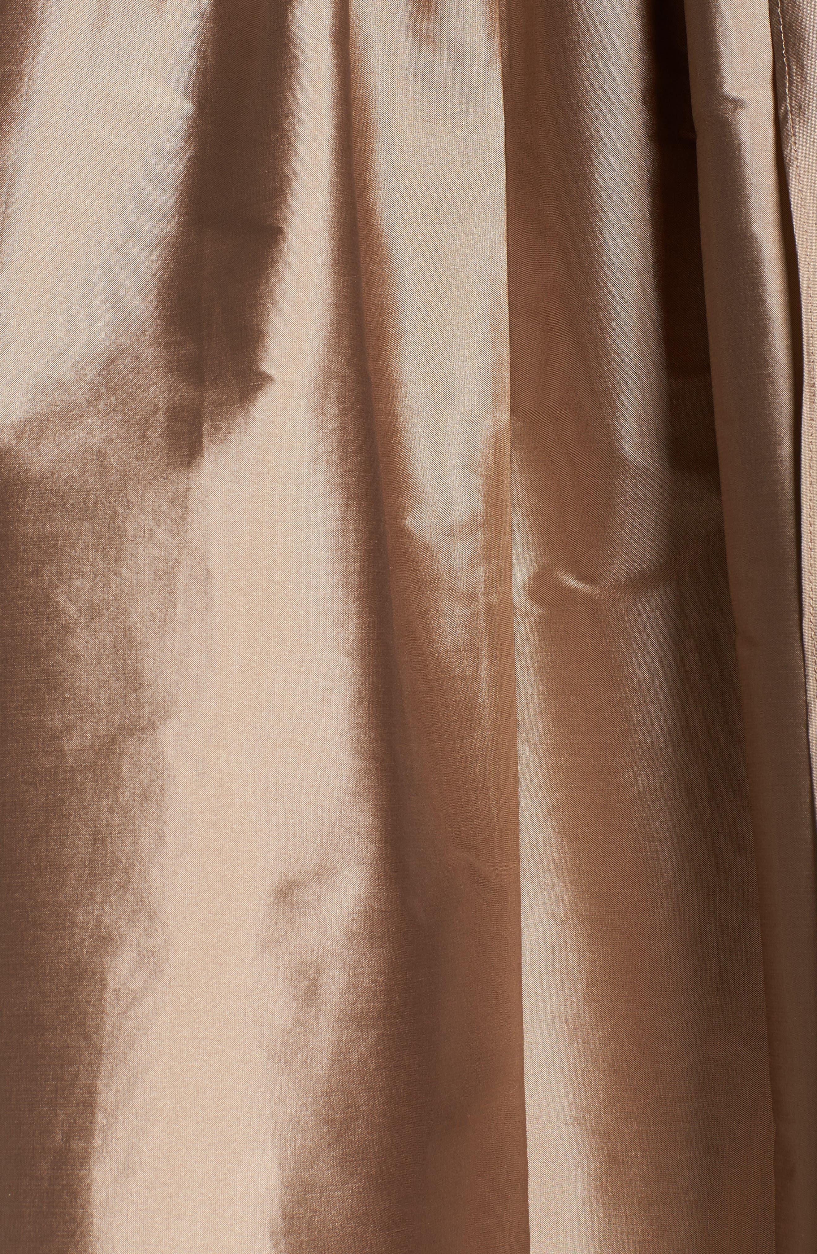 Alternate Image 5  - Adrianna Papell Embellished Bodice Party Dress (Plus Size)