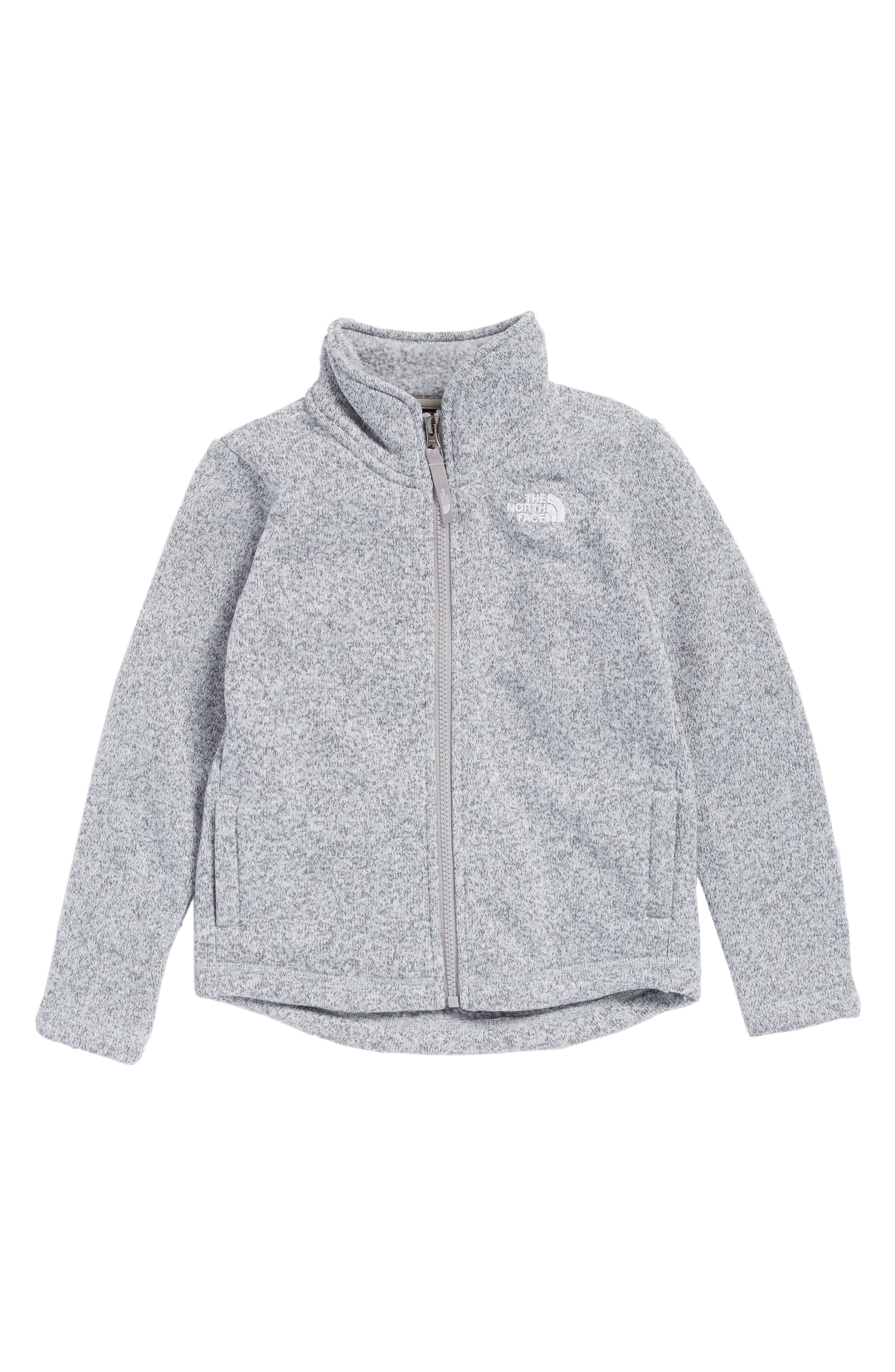 Main Image - The North Face Crescent Fleece Jacket (Toddler Girls & Little Girls)