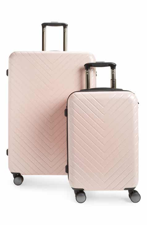3cf35635b97 Nordstrom Chevron 29-Inch   18-Inch Spinner Luggage Set ( 368 Value)