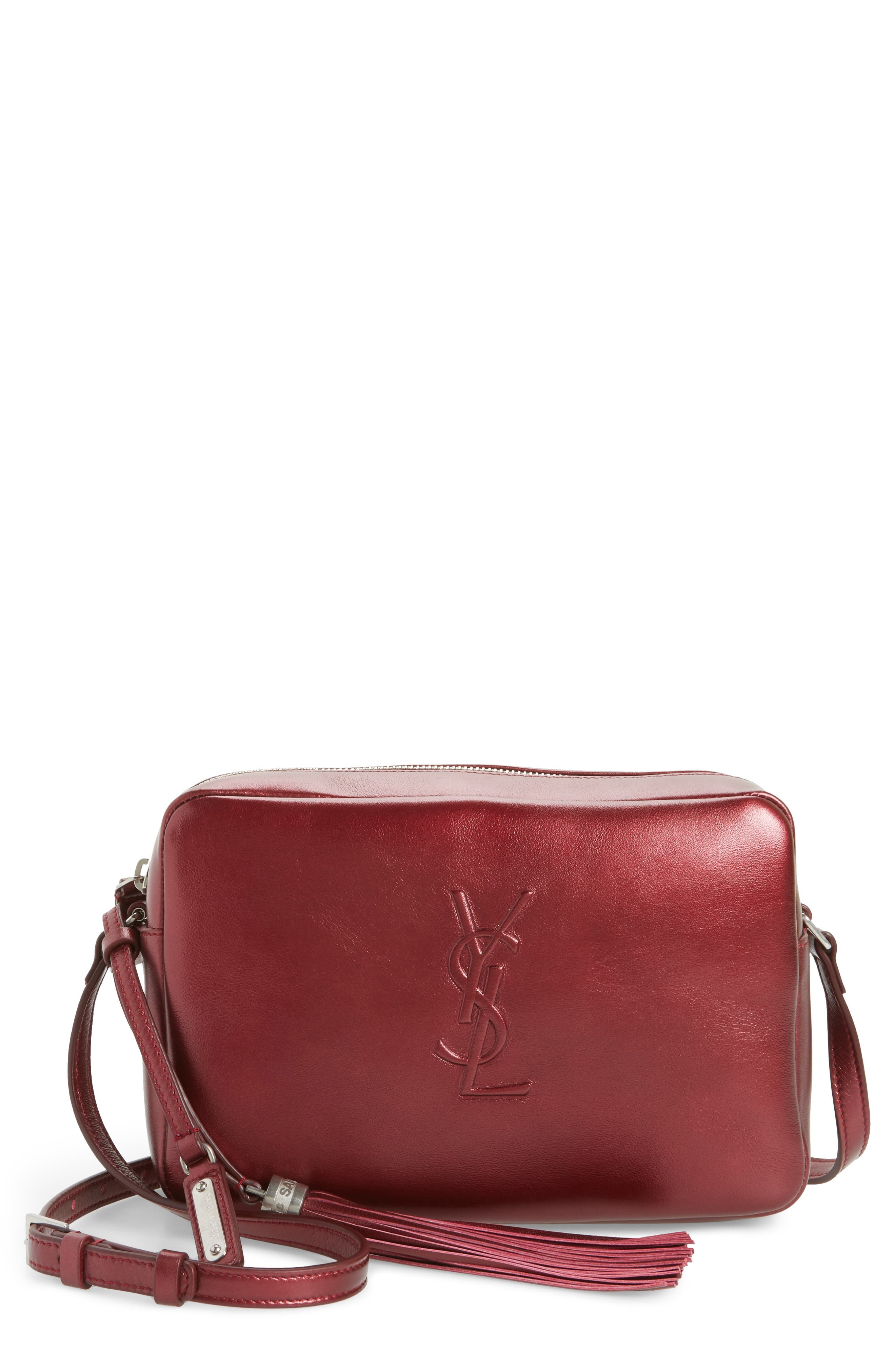 Saint Laurent Medium Lou Calfskin Leather Calfskin Camera Bag