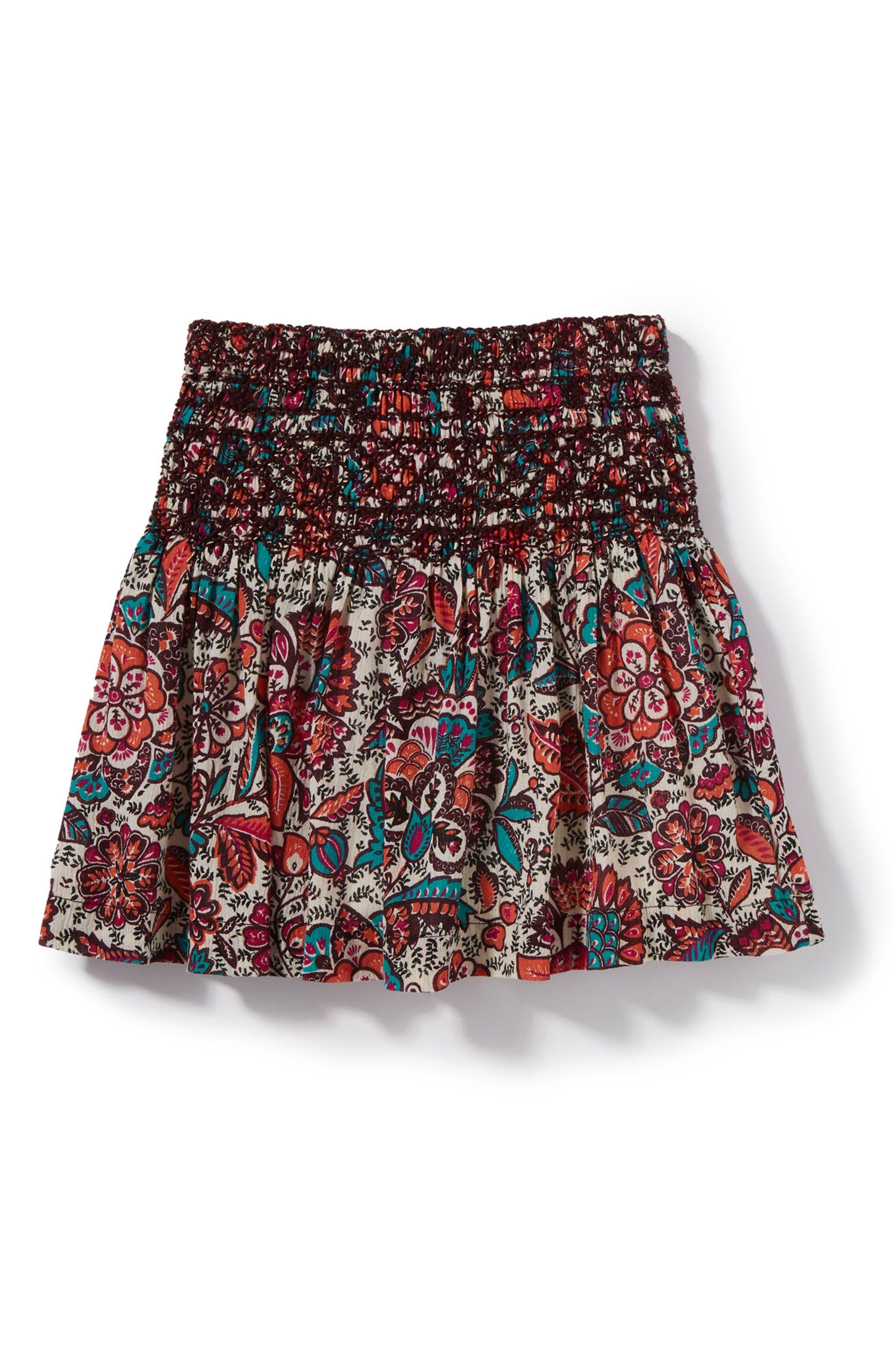 Pixie Print Skirt,                         Main,                         color, Purple