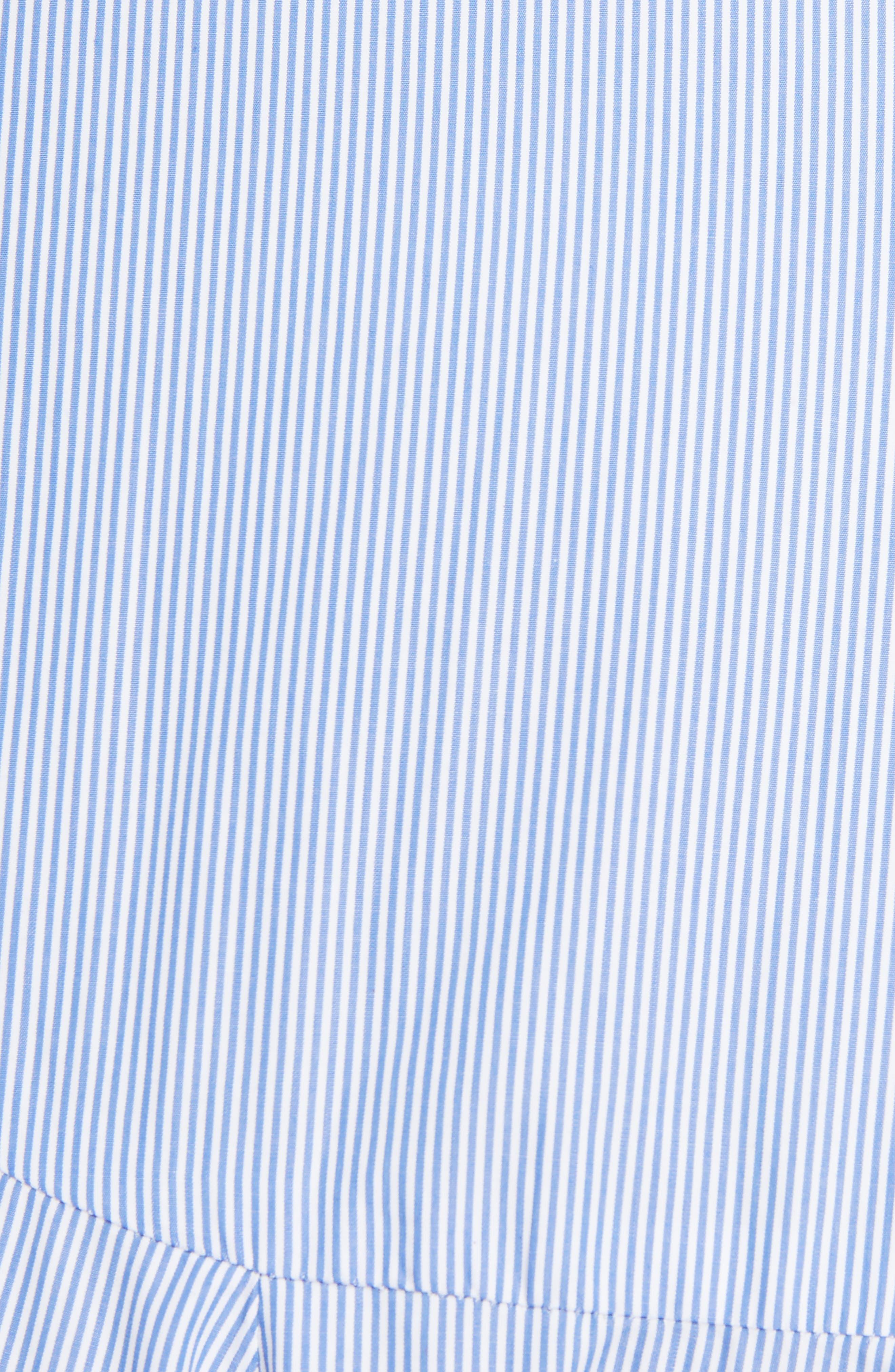 Alternate Image 5  - Loewe Stripe Cotton Skater Skirt