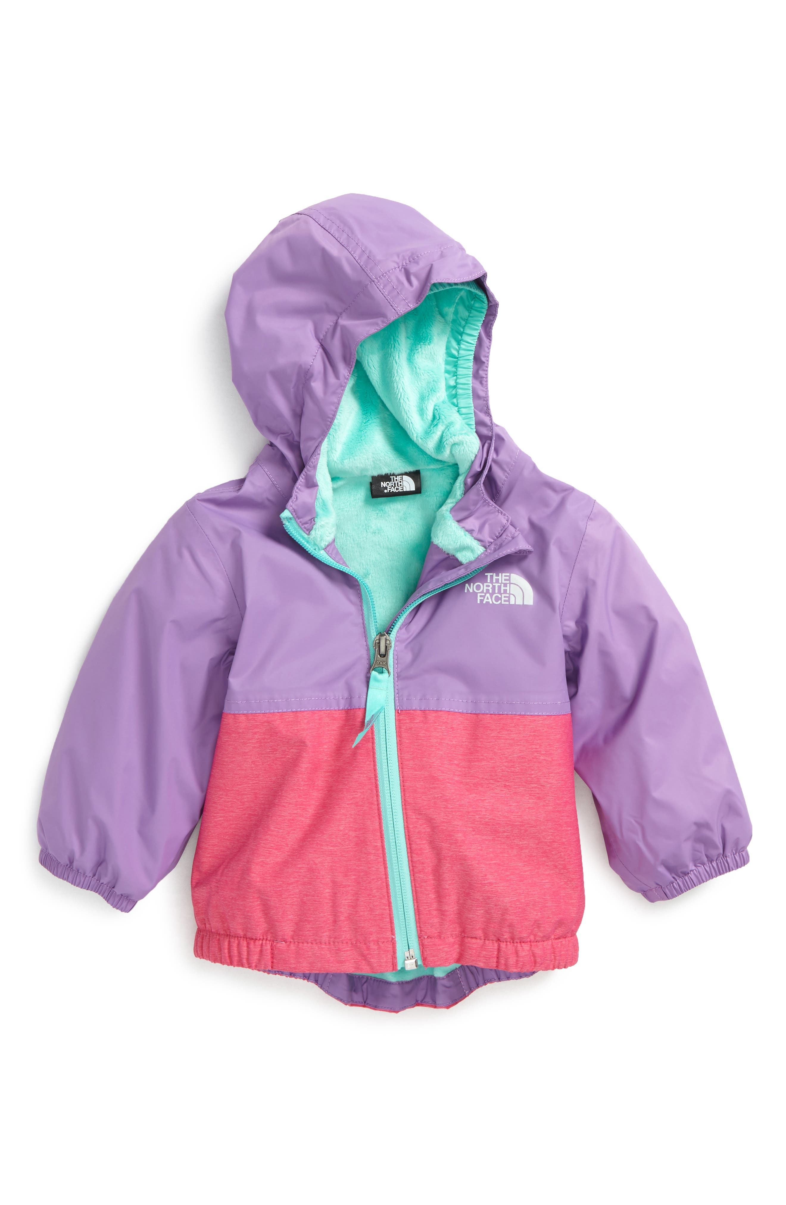 The North Face Warm Storm Hooded Waterproof Jacket (Baby Girls)
