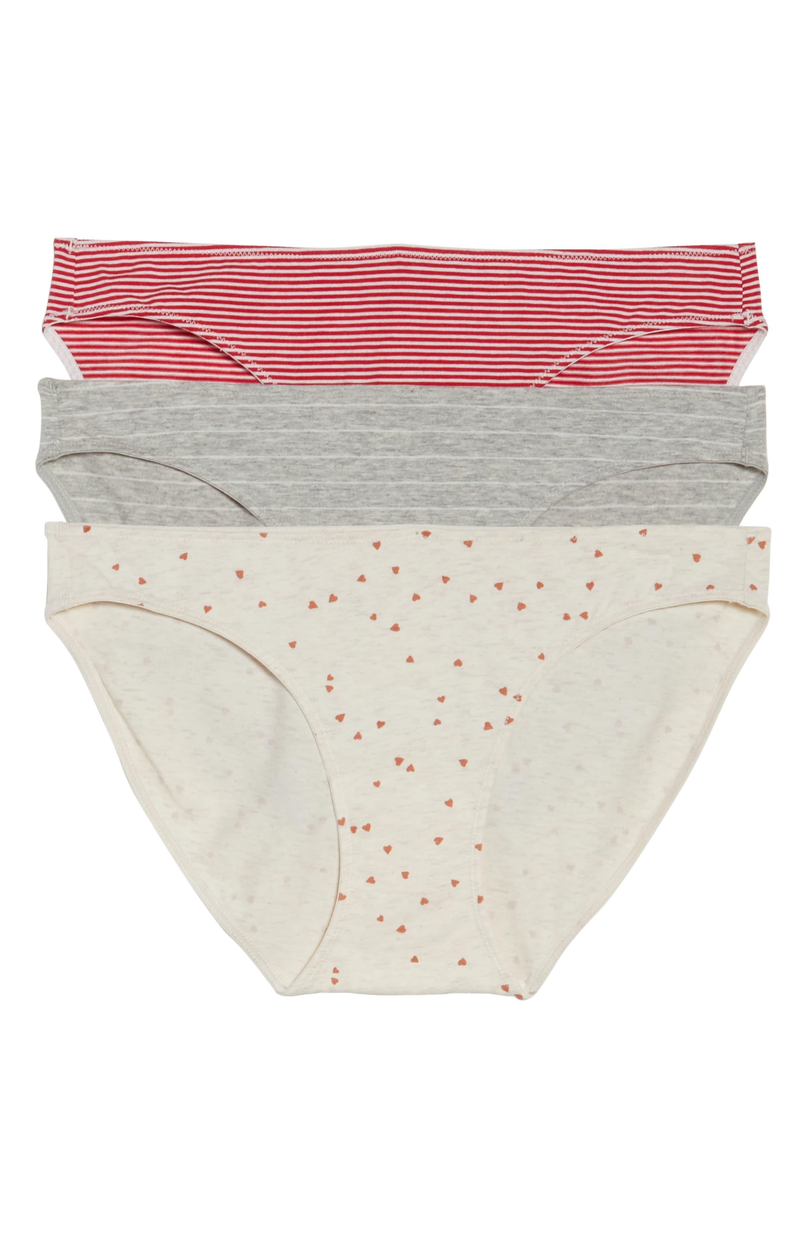 Madewell 3-Pack Bikini