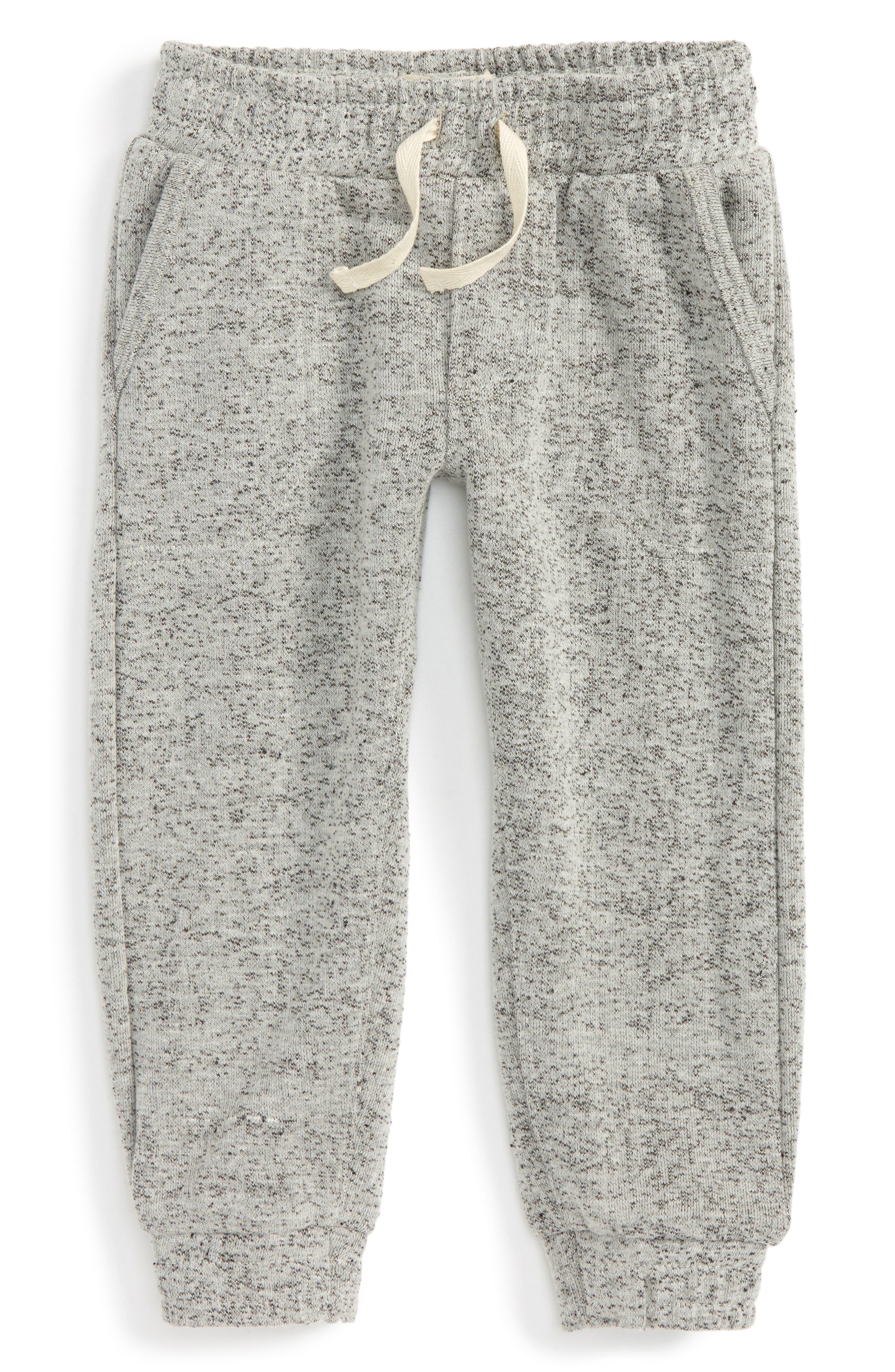 Knit Jogger Pants,                         Main,                         color, Heather Grey
