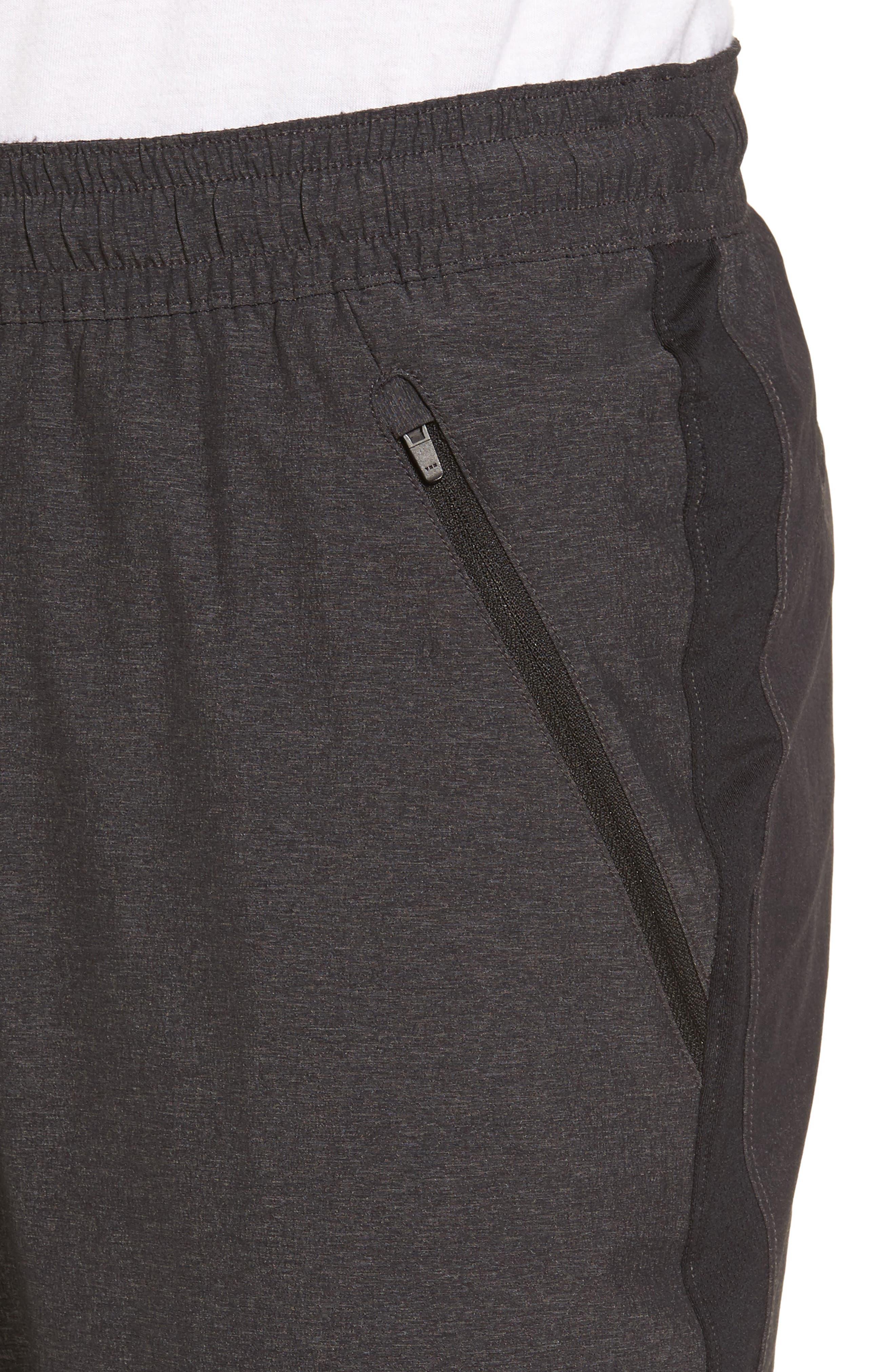 Zip Pocket Sweatpants,                             Alternate thumbnail 4, color,                             Grey Ebony Melange