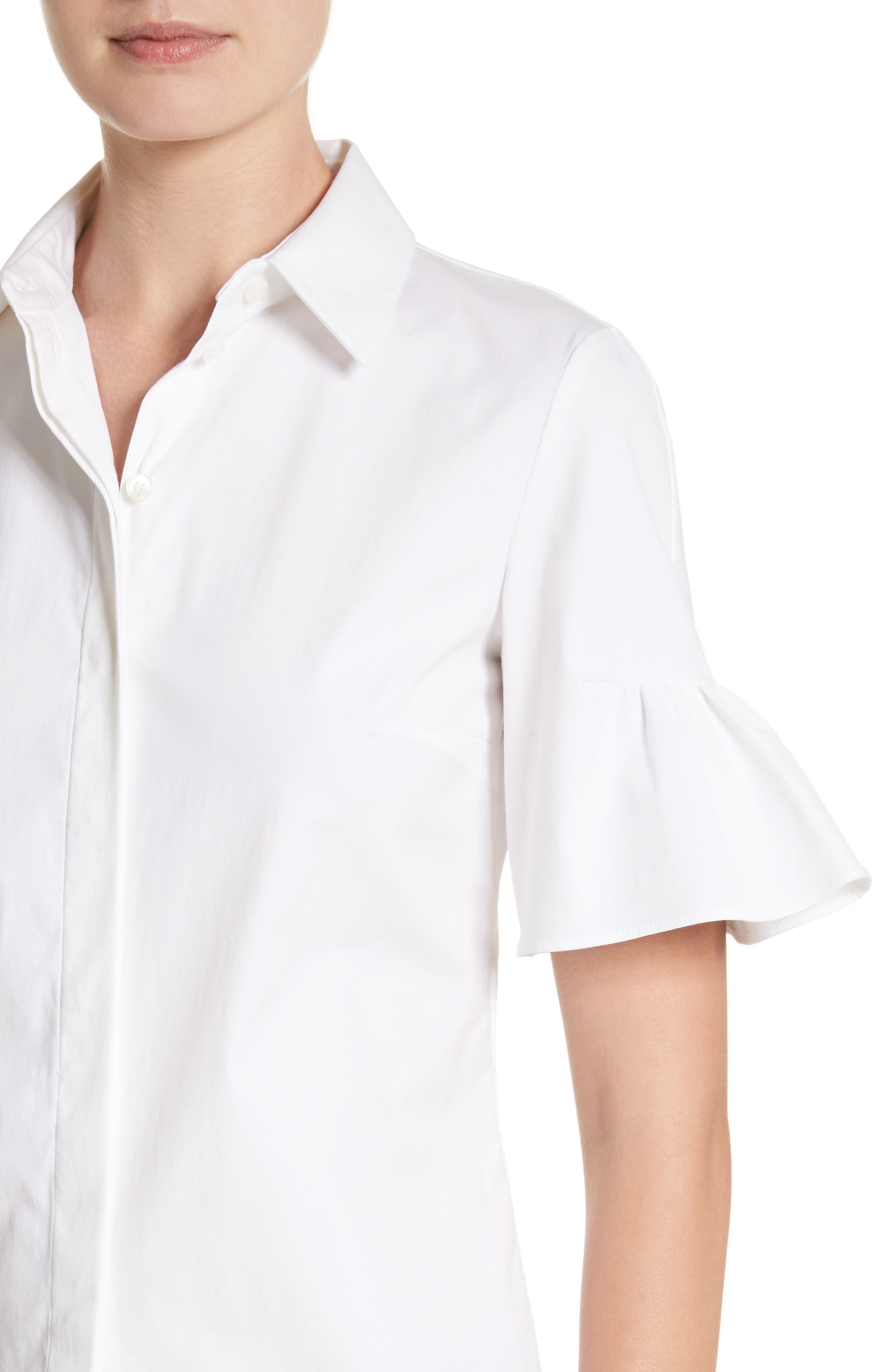 Alternate Image 4  - Michael Kors Bell Sleeve Shirt