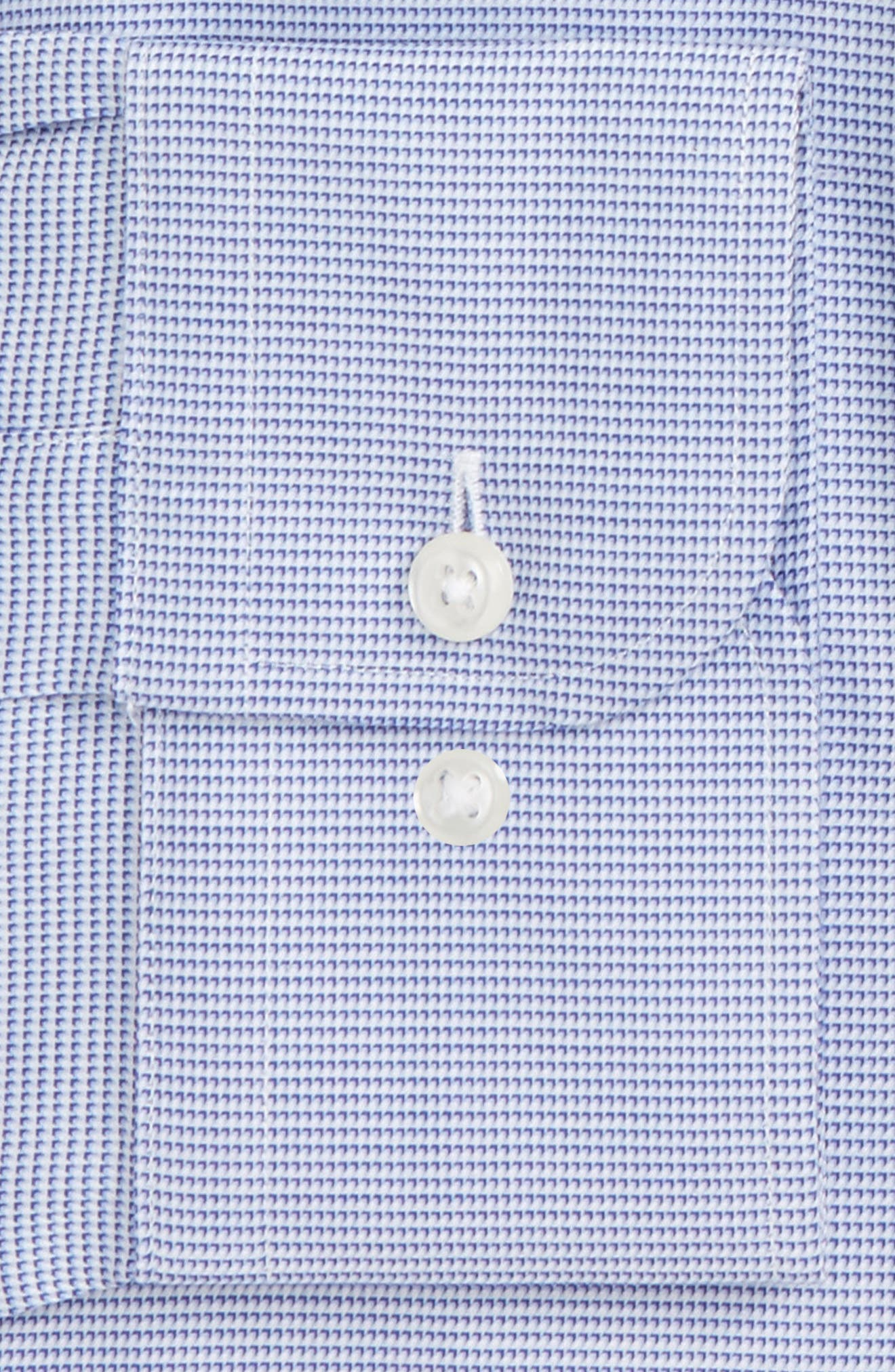 Traditional Fit Solid Dress Shirt,                             Alternate thumbnail 2, color,                             Blue Marine