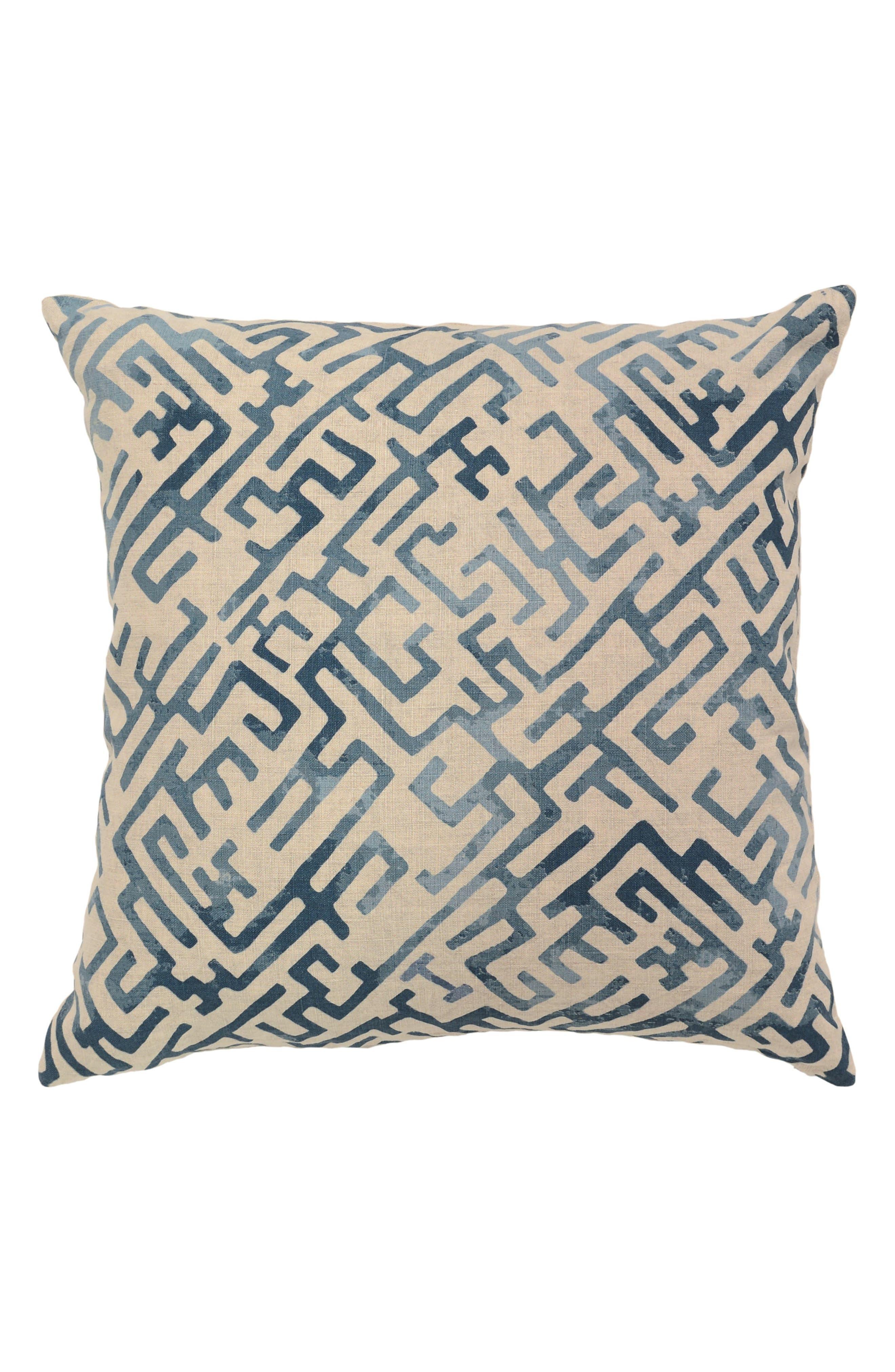 Marin Pillow,                         Main,                         color, Blue
