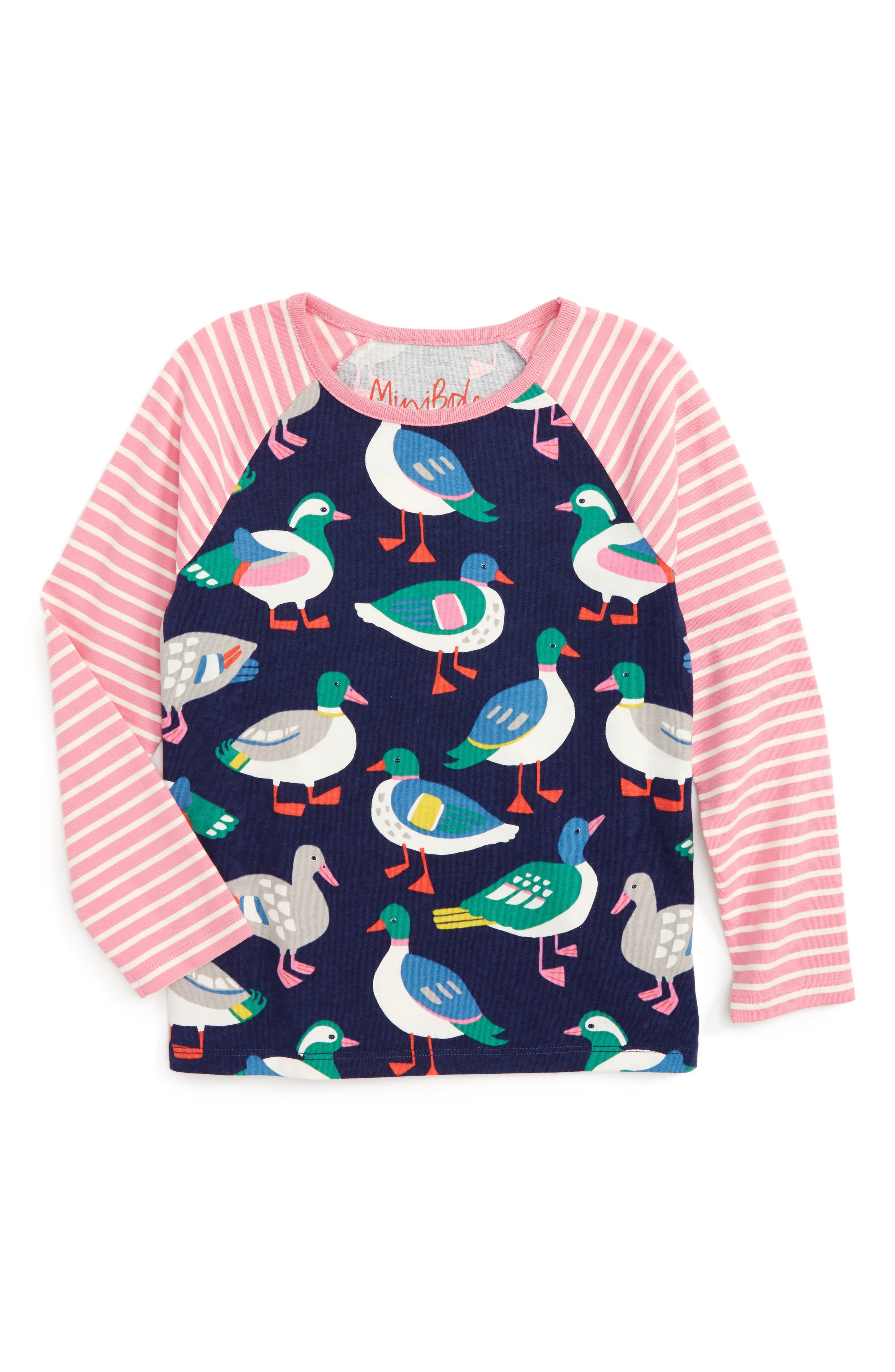 Alternate Image 1 Selected - Mini Boden Hotchpotch Tee (Toddler Girls, Little Girls & Big Girls)
