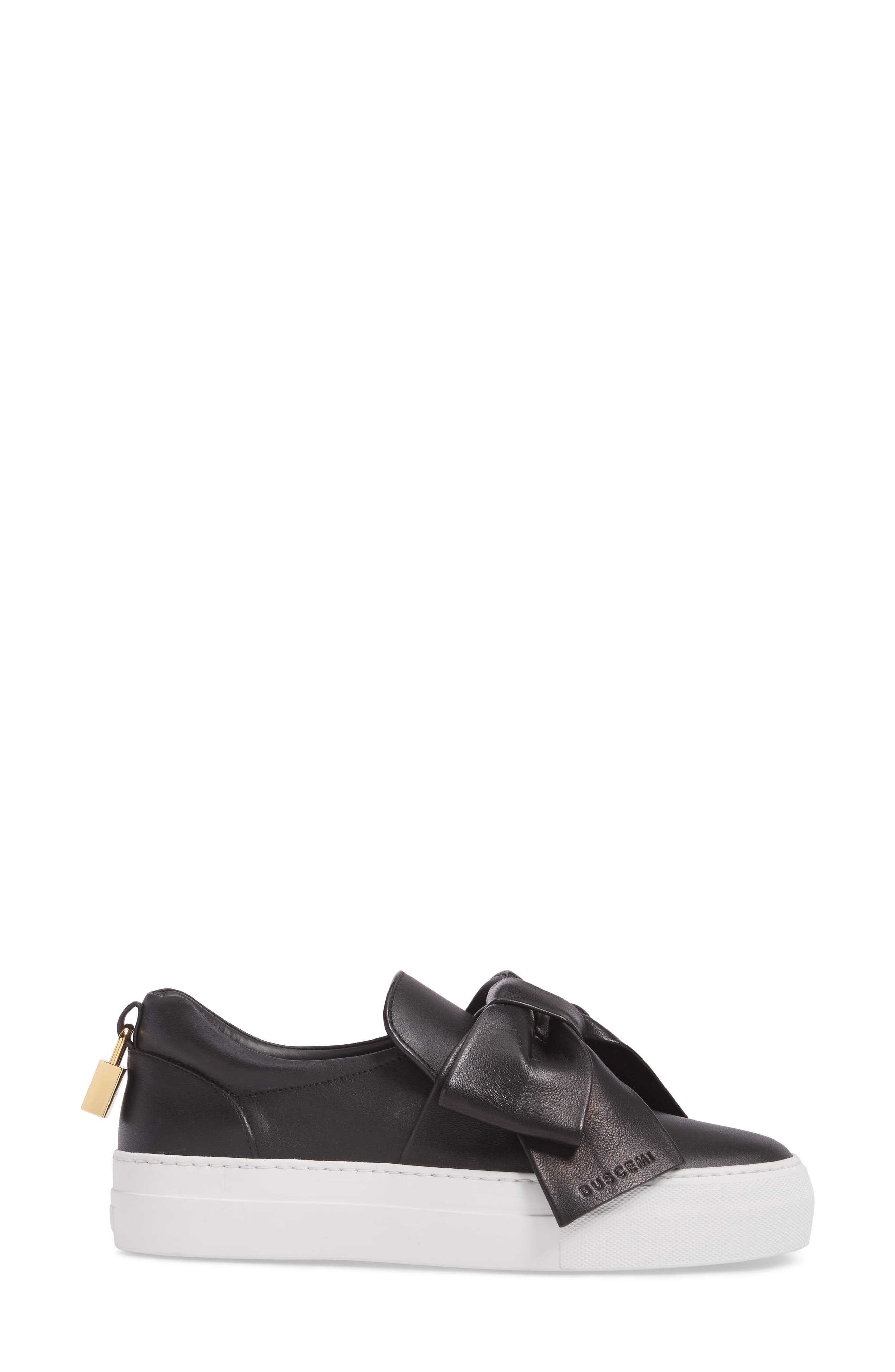 Alternate Image 3  - Buscemi Bow Slip-On Sneaker (Women)