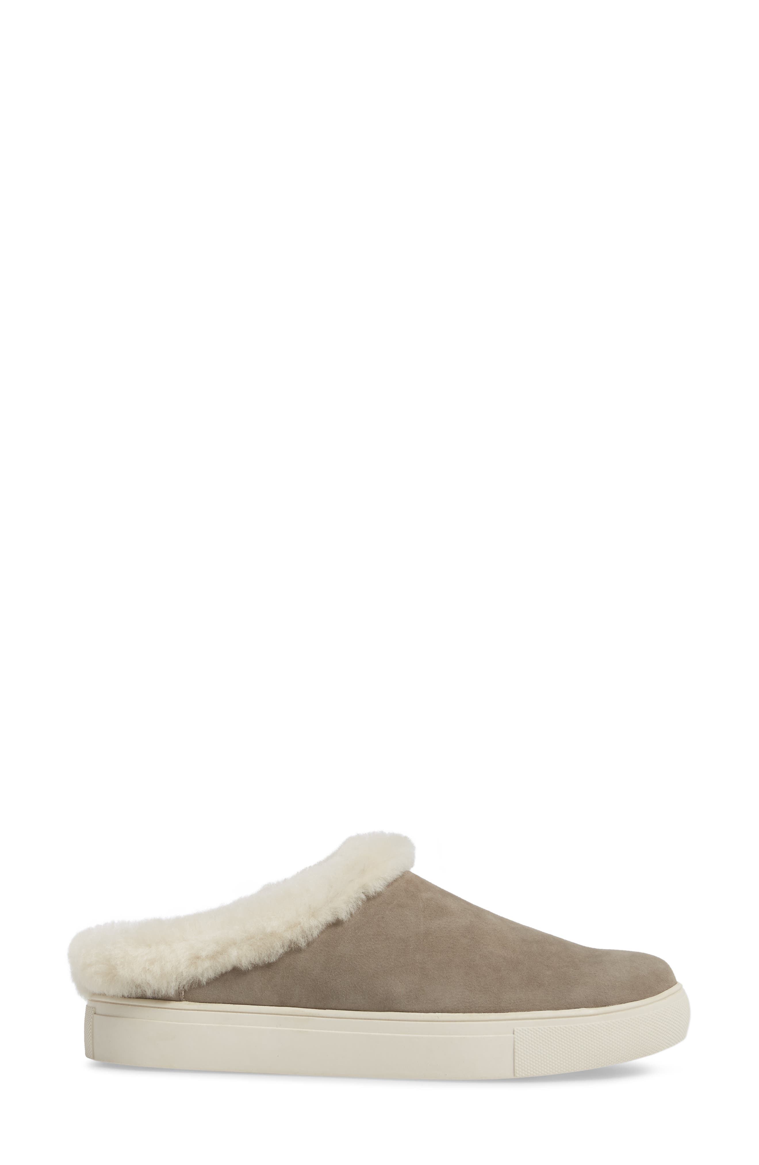 Alternate Image 3  - Sudini Leia Genuine Shearling Lined Slip-On (Women)