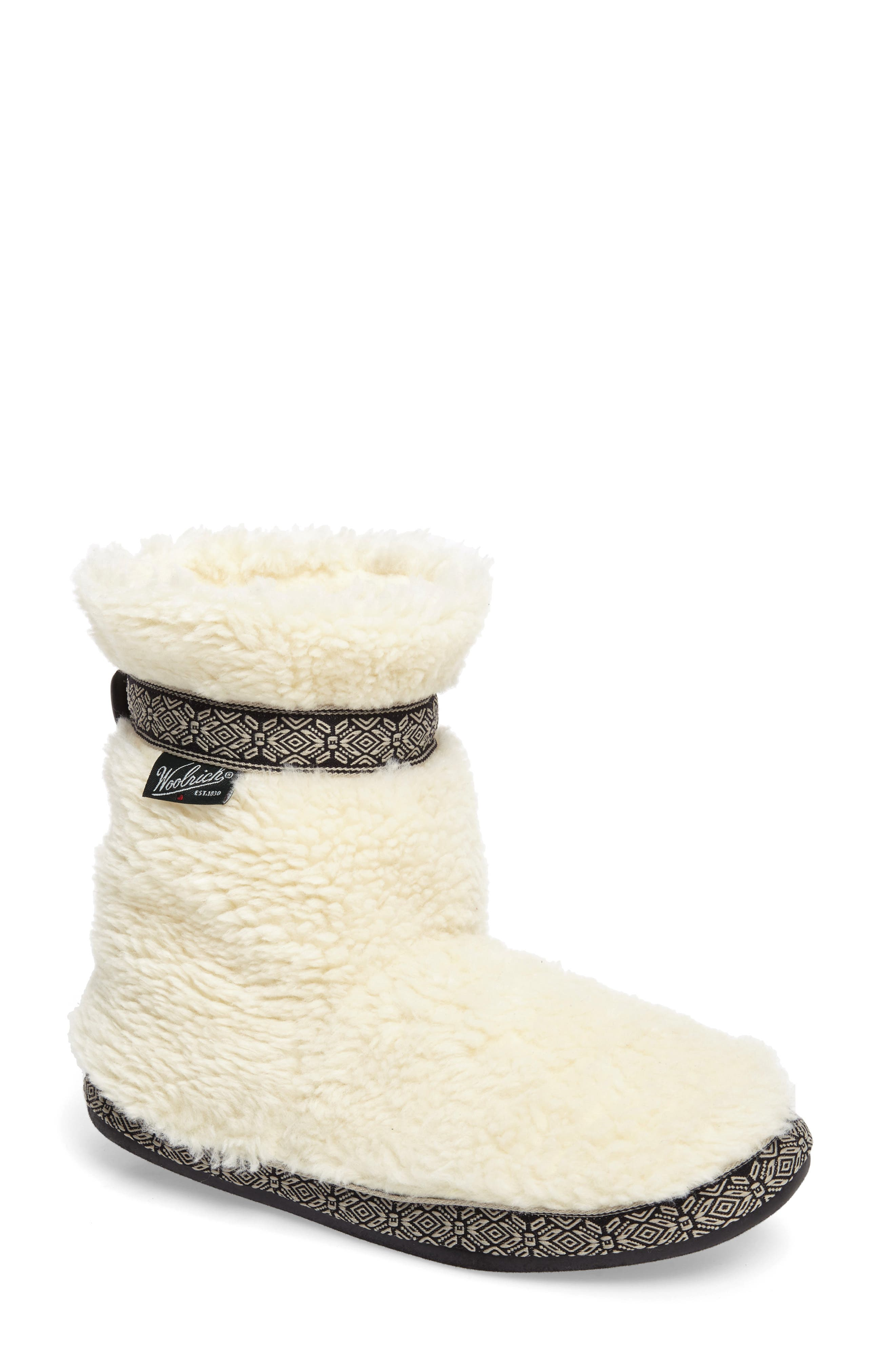 Alternate Image 1 Selected - Woolrich Whitecap Slipper Bootie (Women)