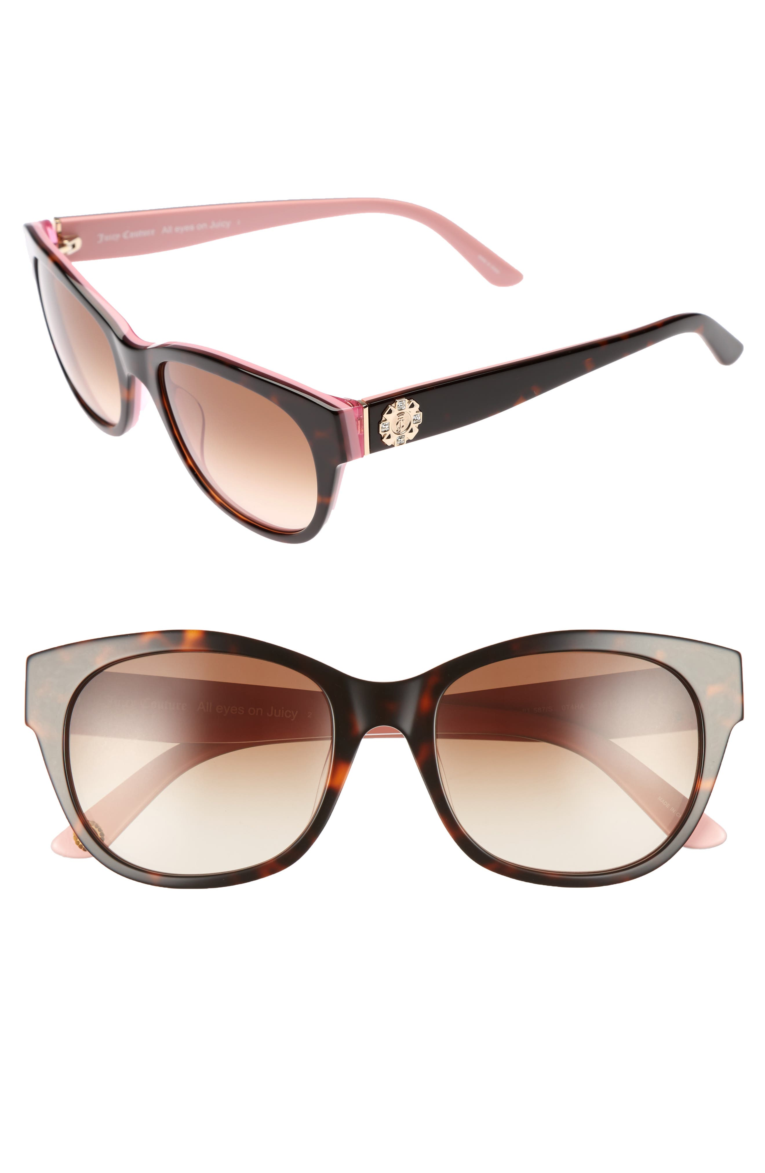 Shades of Couture by Juicy Couture 53mm Gradient Sunglasses