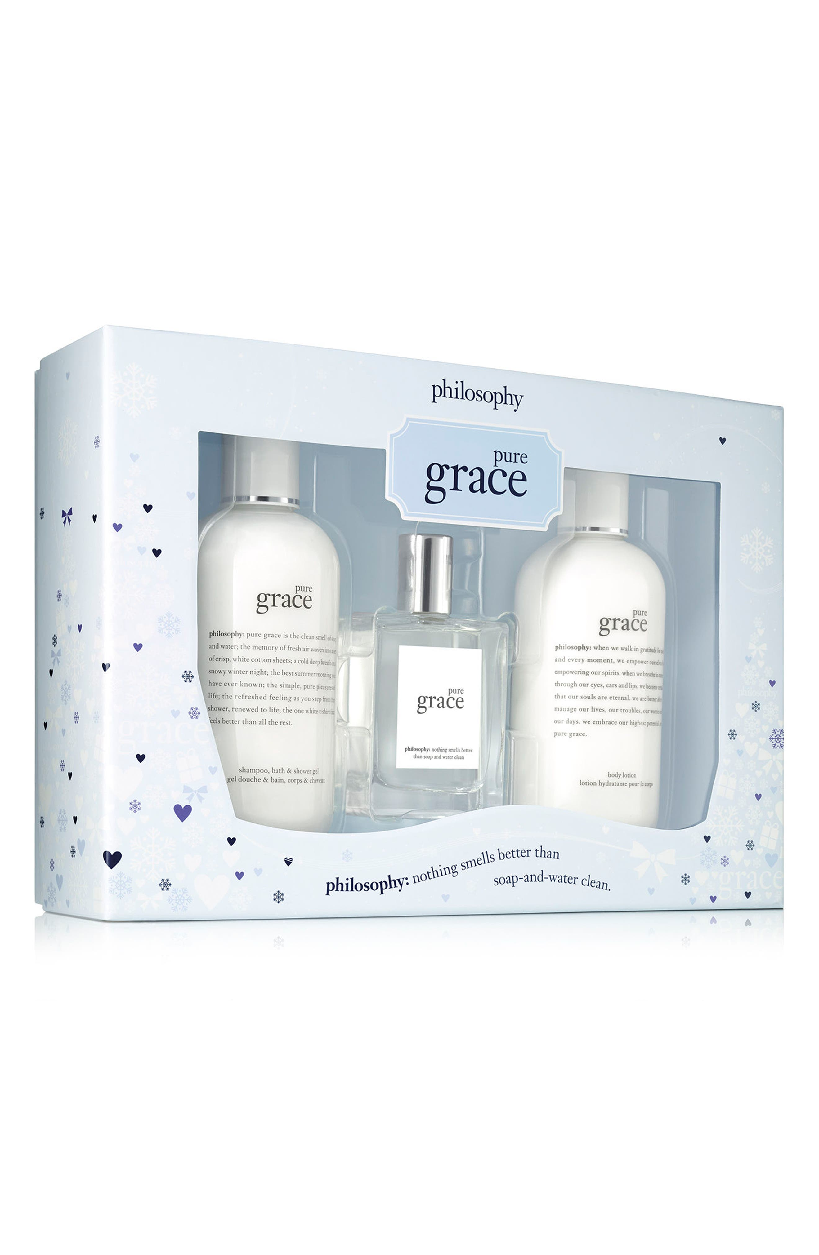 Alternate Image 1 Selected - philosophy pure grace set (Limited Edition) ($88 Value)