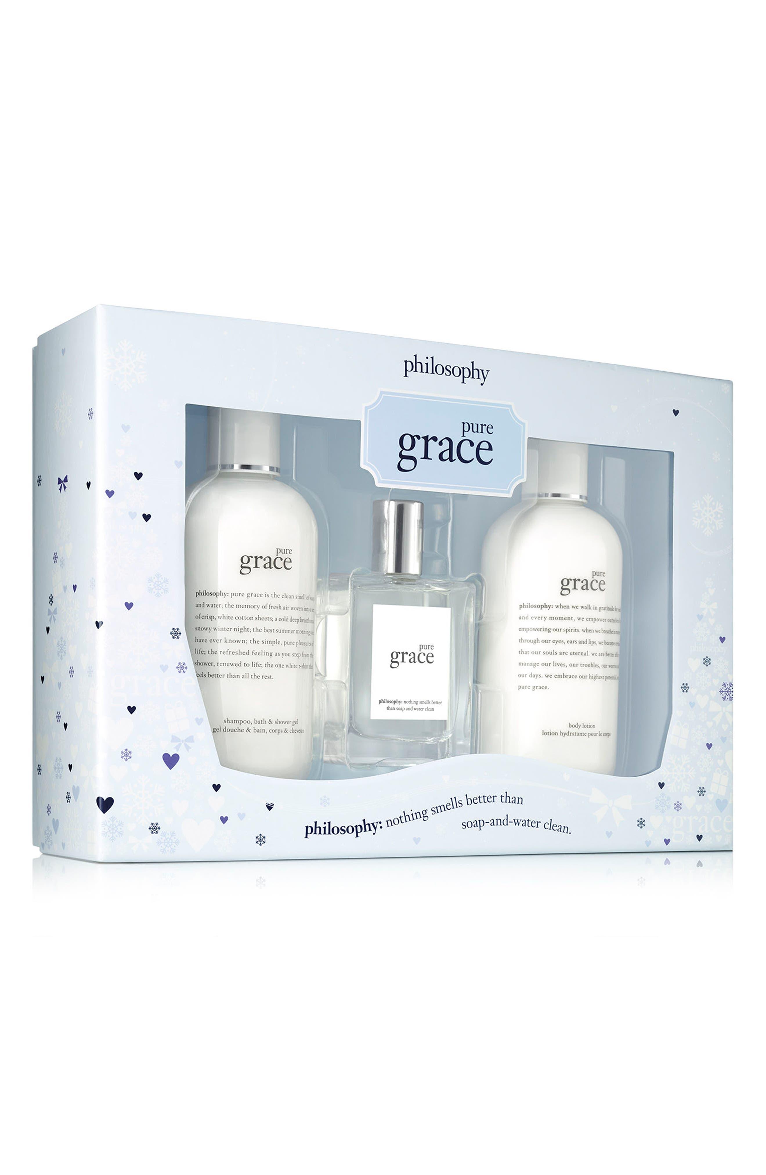 philosophy pure grace set (Limited Edition) ($88 Value)
