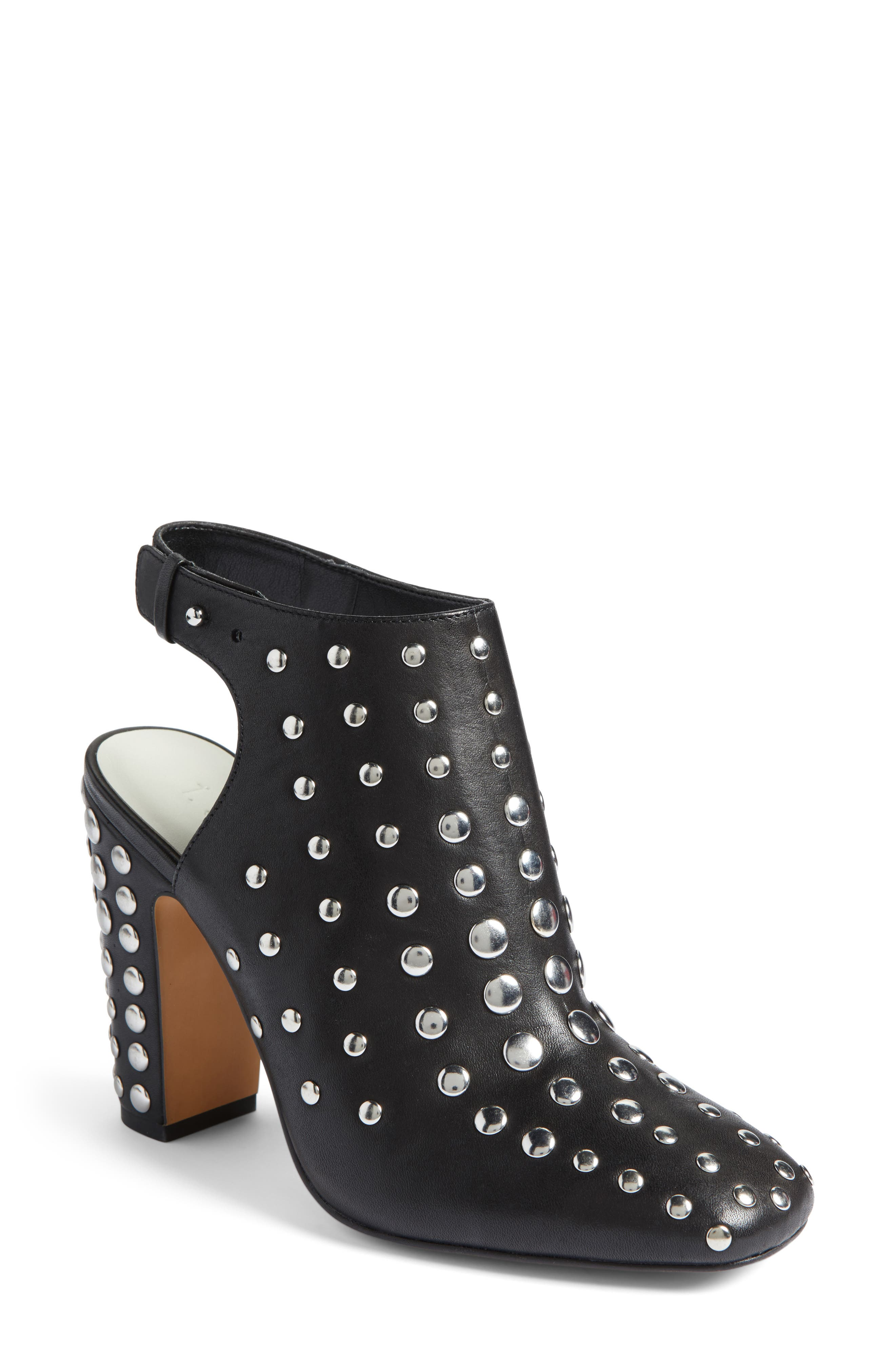 Alternate Image 1 Selected - 1.STATE Ryel Studded Bootie (Women)