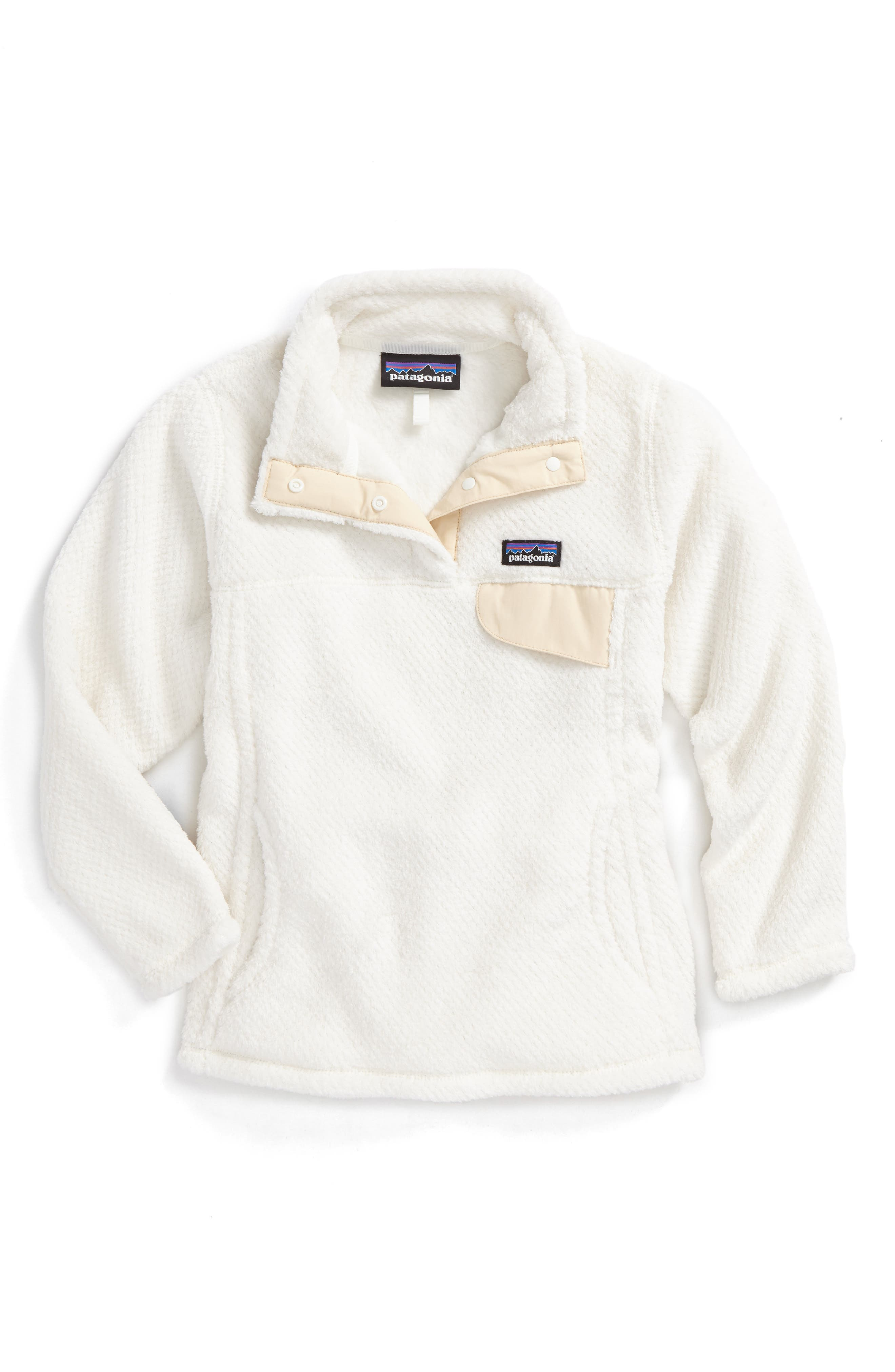 Re-Tool Snap-T<sup>®</sup> Pullover,                             Main thumbnail 1, color,                             Raw Linen - White X-Dye