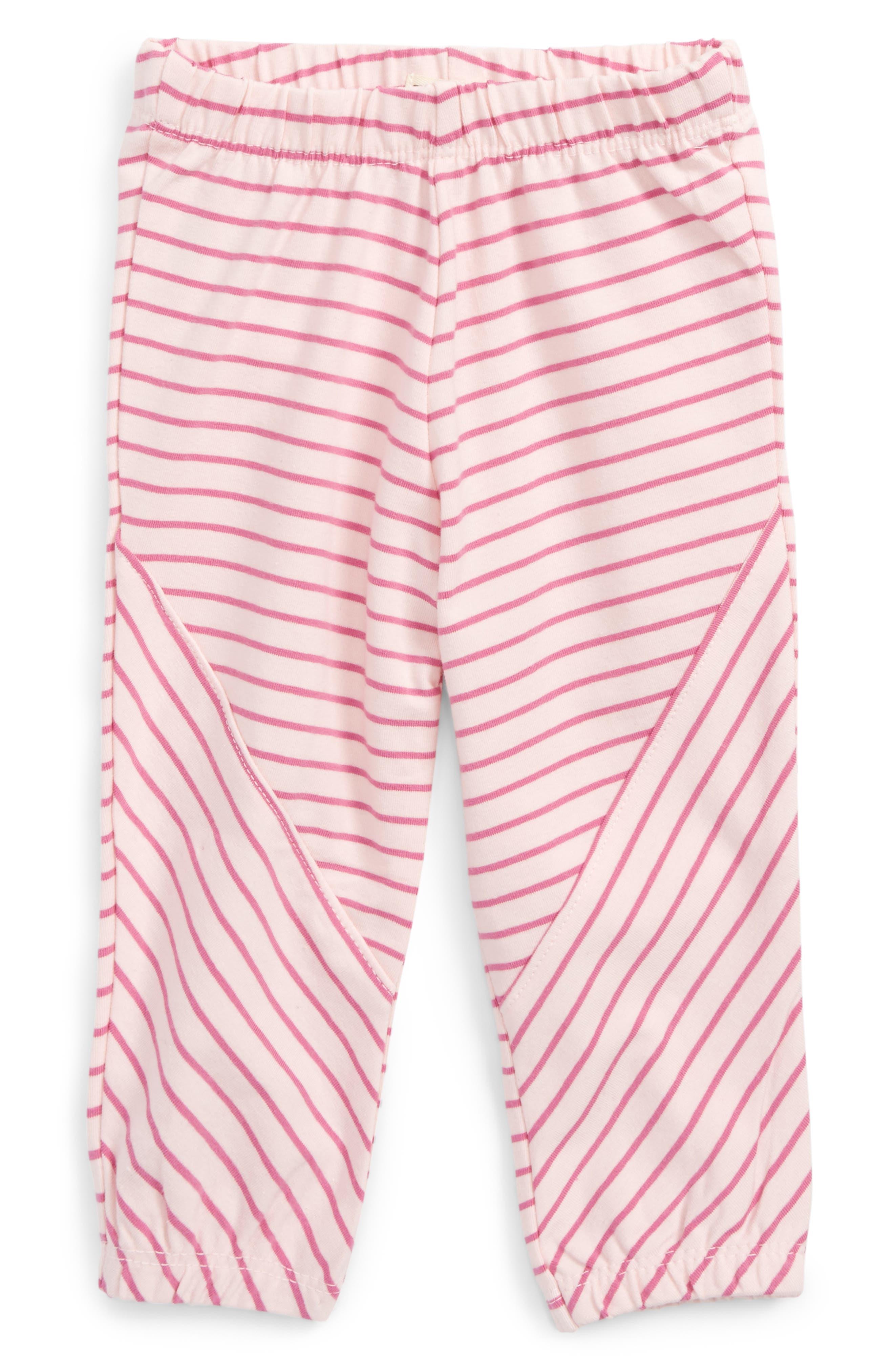 Mini Stripe Leggings,                             Main thumbnail 1, color,                             Pink Stripes