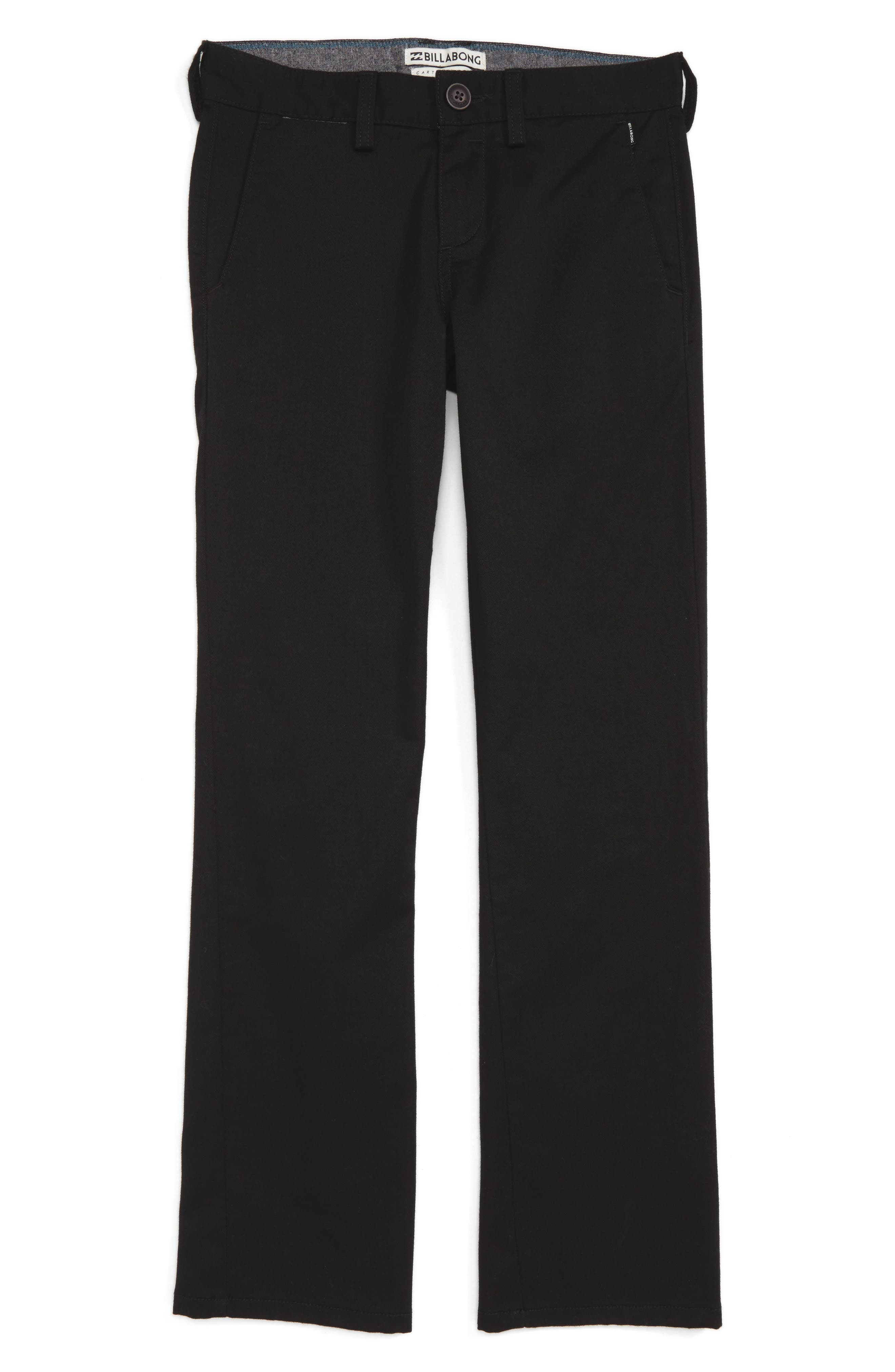Alternate Image 1 Selected - Billabong Carter Stretch Twill Chinos (Toddler Boys, Little Boys & Big Boys)