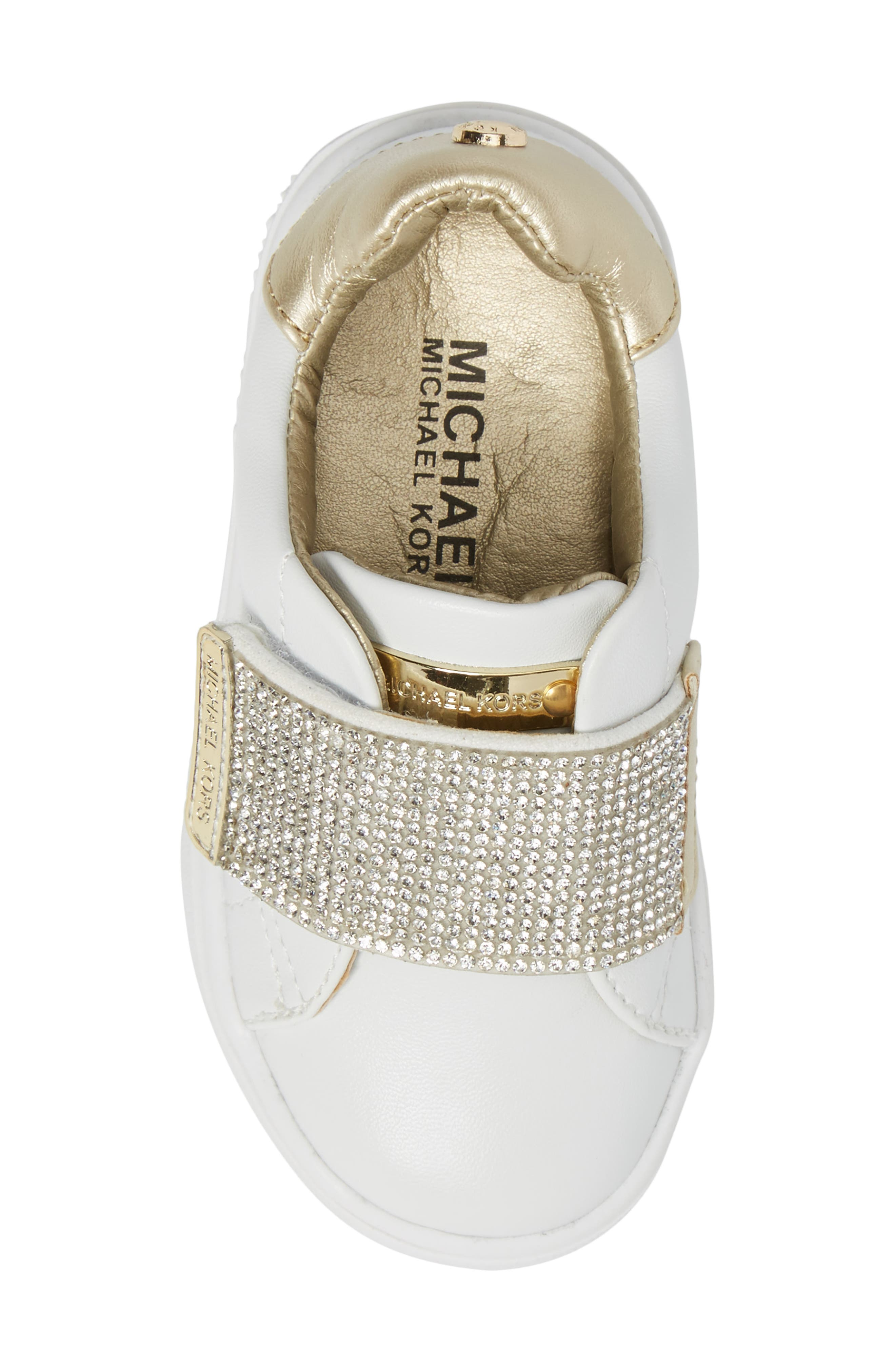 Alternate Image 5  - MICHAEL Michael Kors Ivy Candy Sneaker (Walker, Toddler, Little Kid & Big Kid)