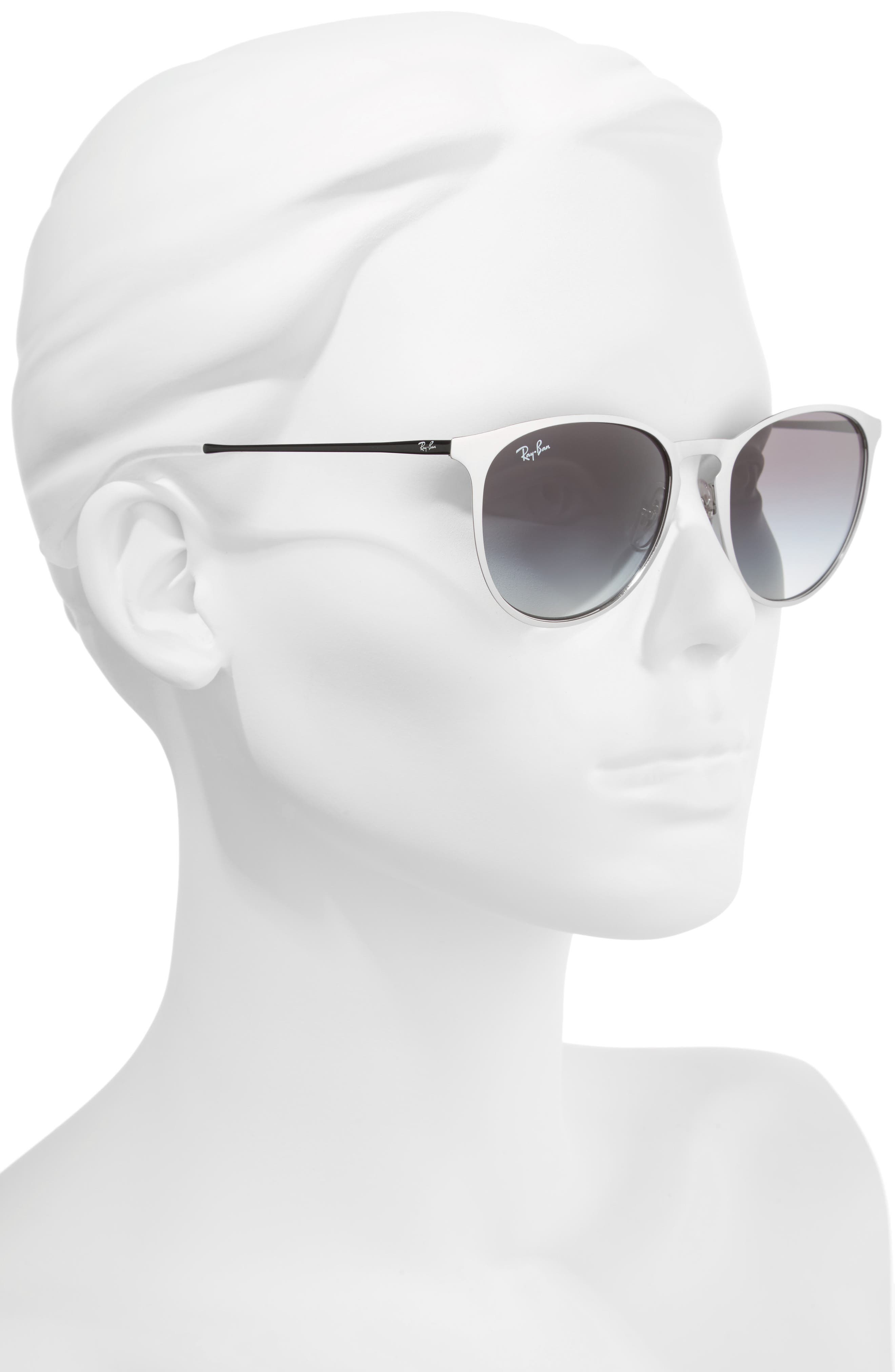 'Youngster' 54mm Sunglasses,                             Alternate thumbnail 2, color,                             Lite Silver
