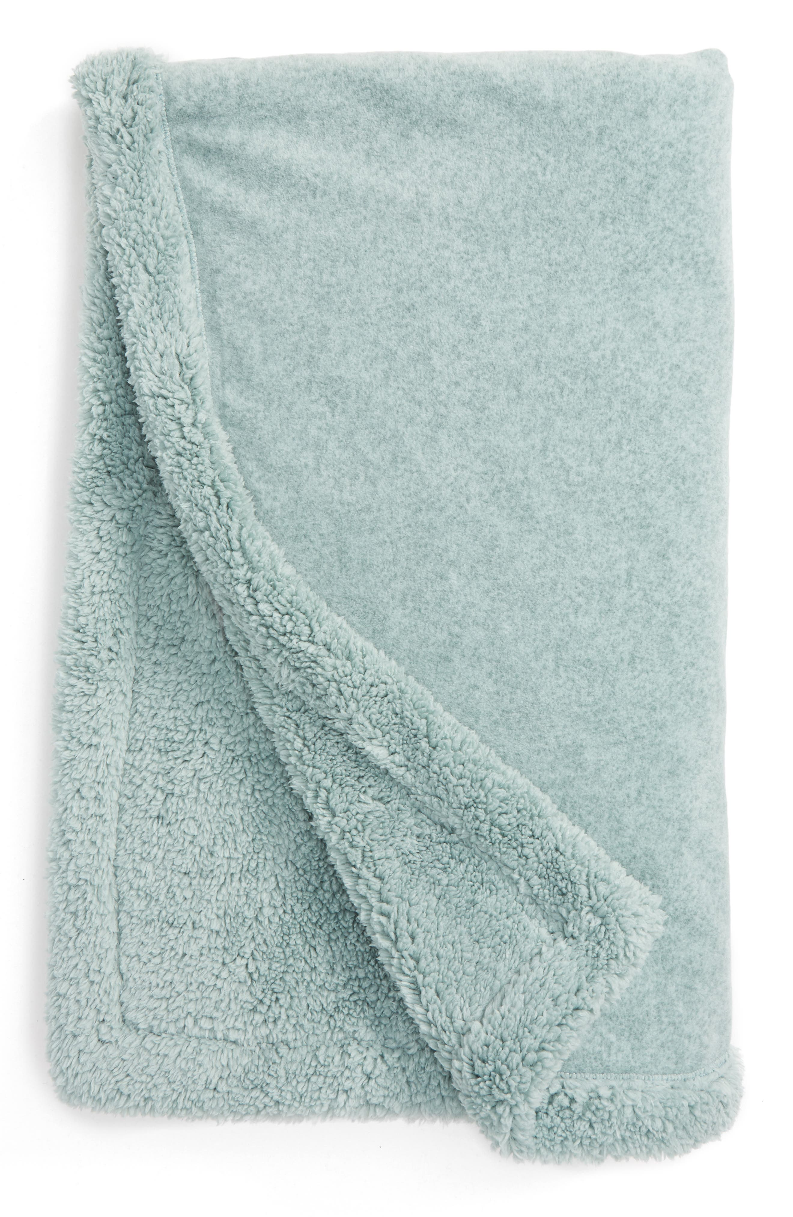 Alternate Image 1 Selected - Nordstrom at Home Fleece Throw