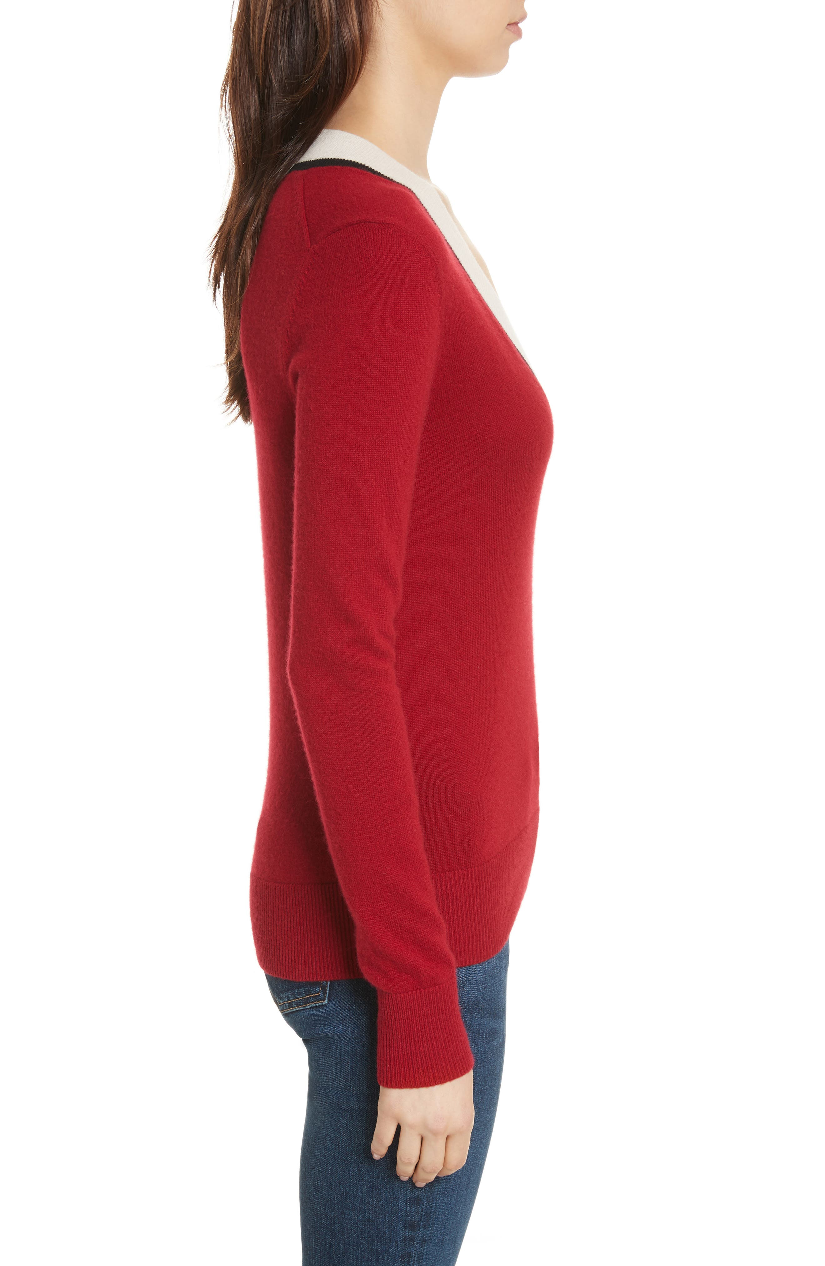 Alternate Image 3  - Veronica Beard Barrett Cashmere Sweater