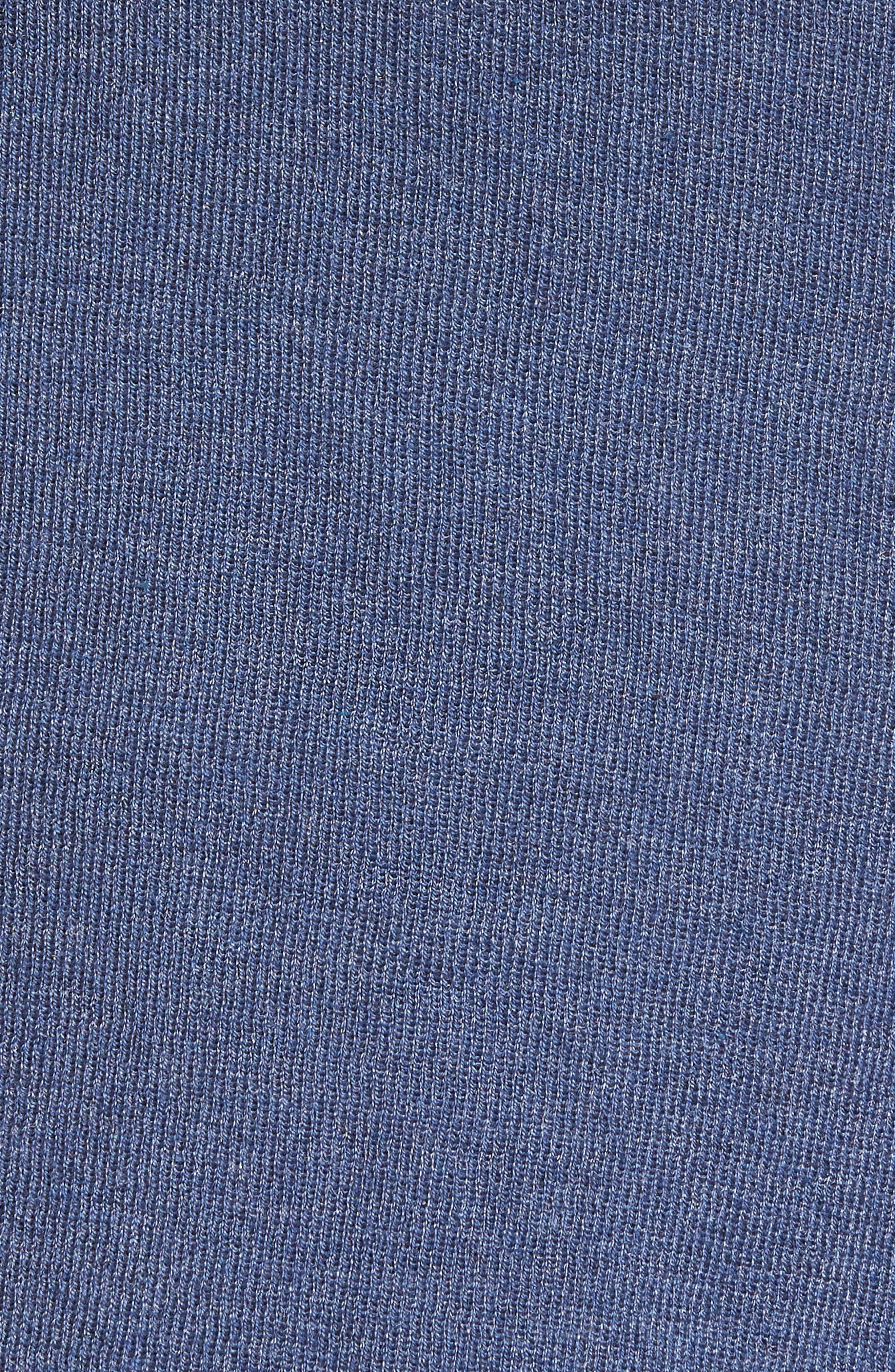 4-Way Convertible Three Quarter Sleeve Cardigan,                             Alternate thumbnail 6, color,                             Faded Navy