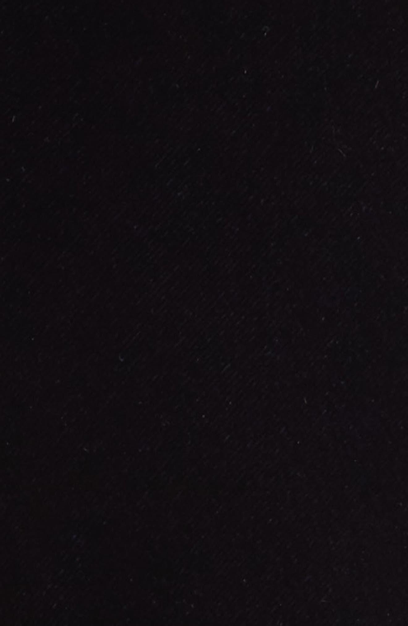 High/Low Velvet Skirt,                             Alternate thumbnail 7, color,                             Navy Night