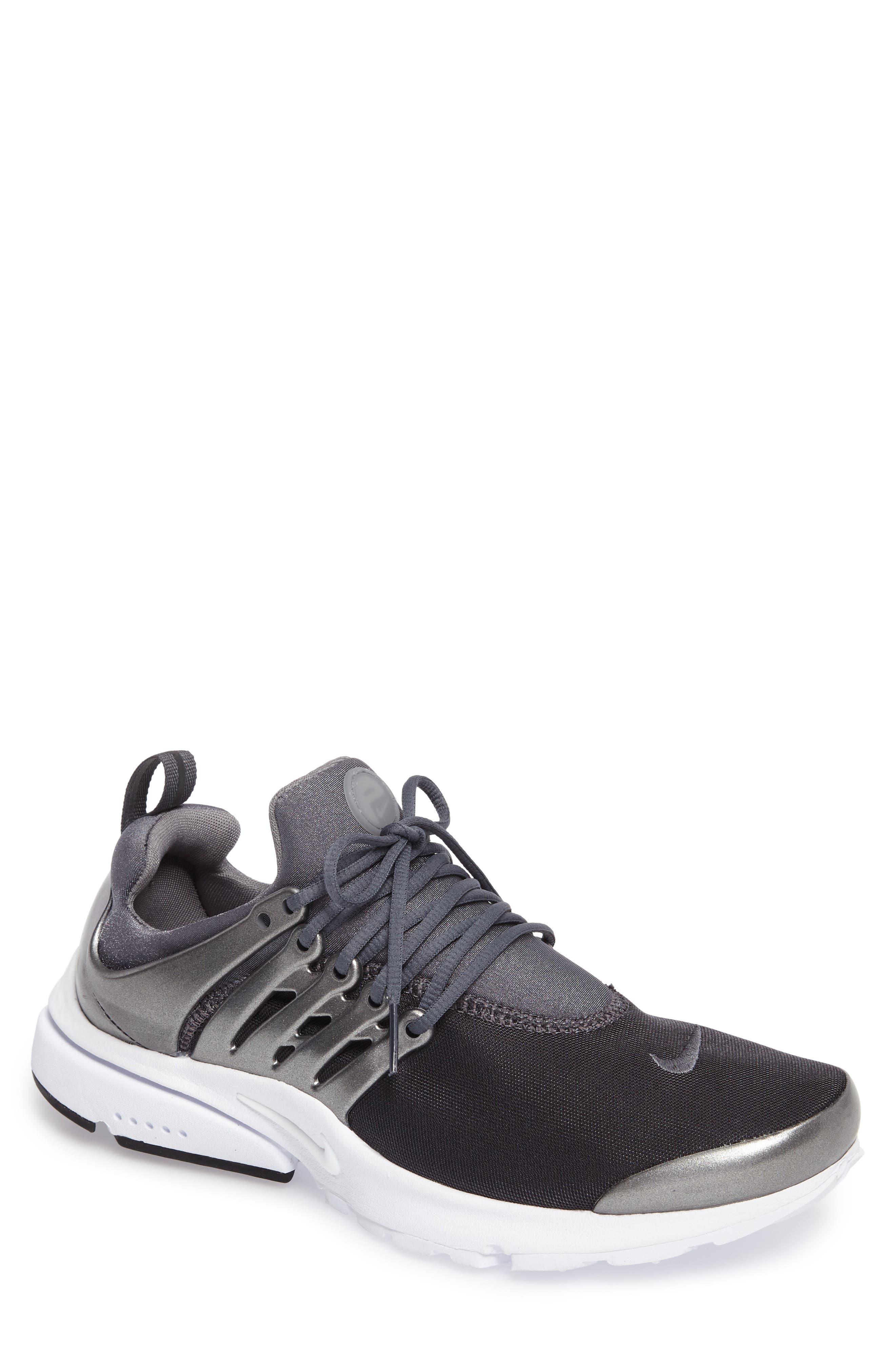 Air Presto Premium Sneaker,                             Main thumbnail 1, color,                             Metallic Hematite/ Cool Grey