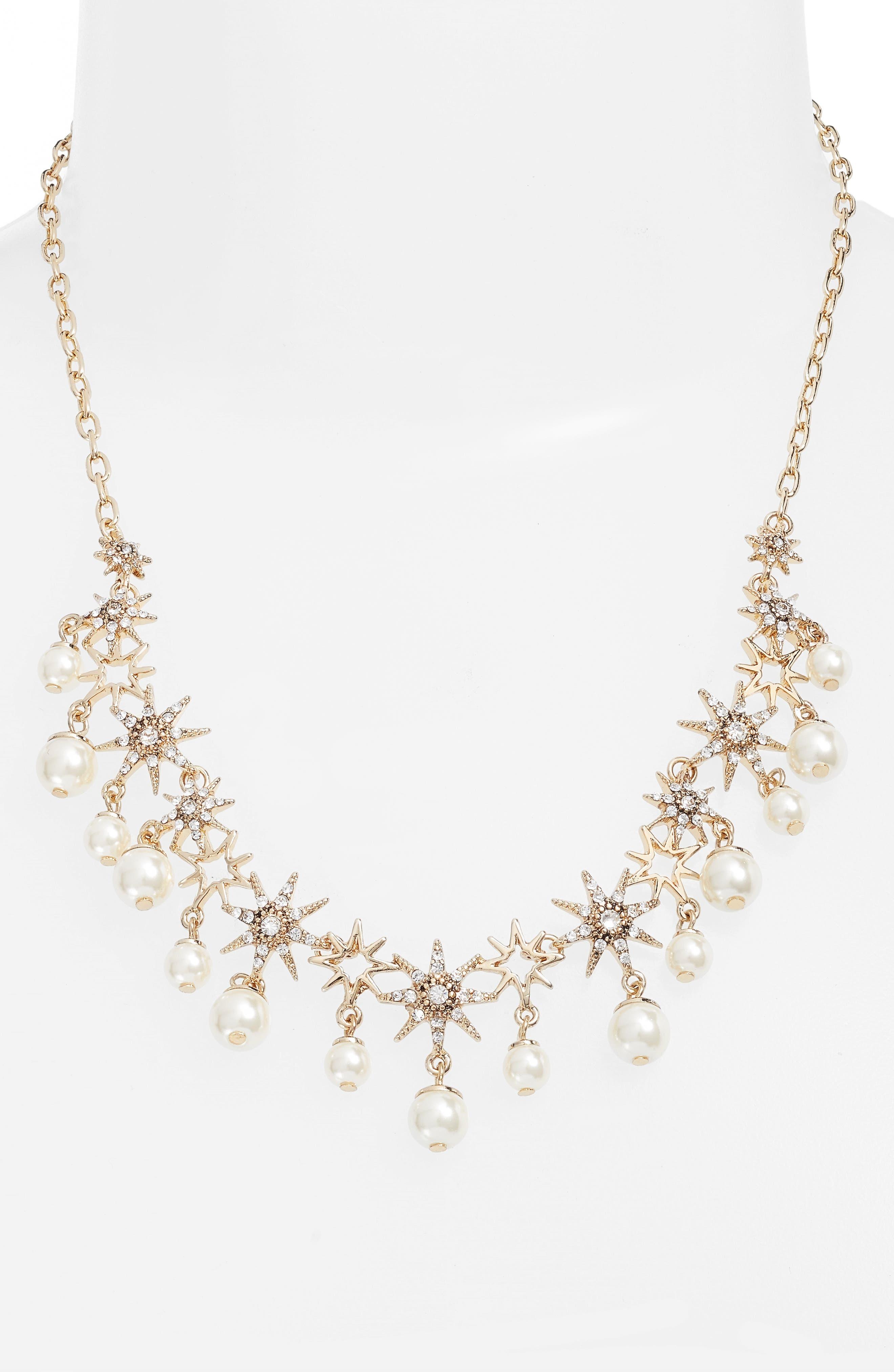 Alternate Image 1 Selected - Jenny Packham Star Collar Necklace