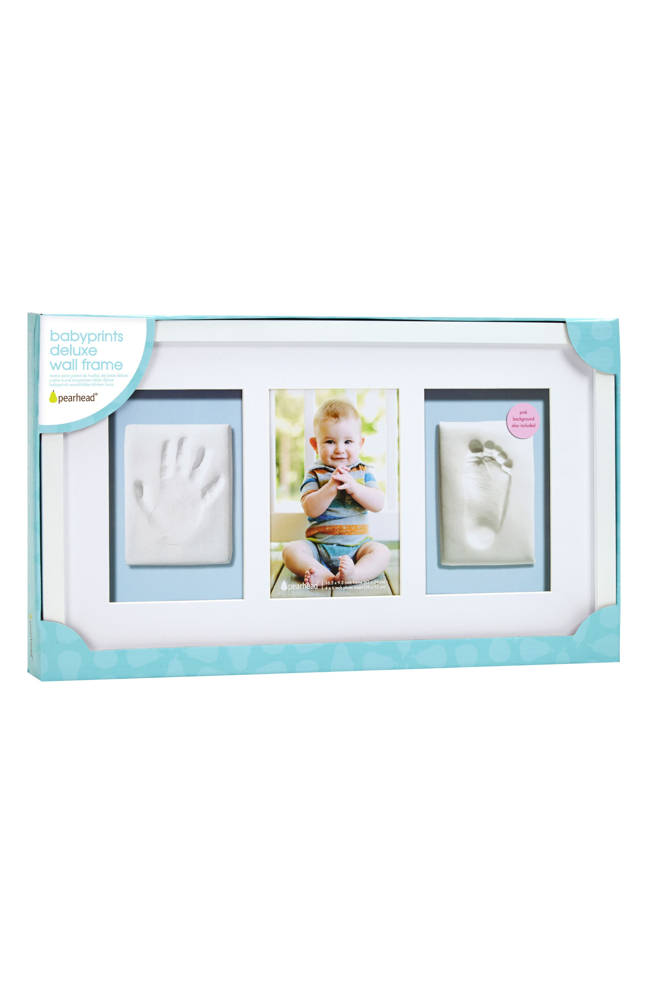 Babyprints Deluxe Wall Frame Kit,                         Main,                         color, White