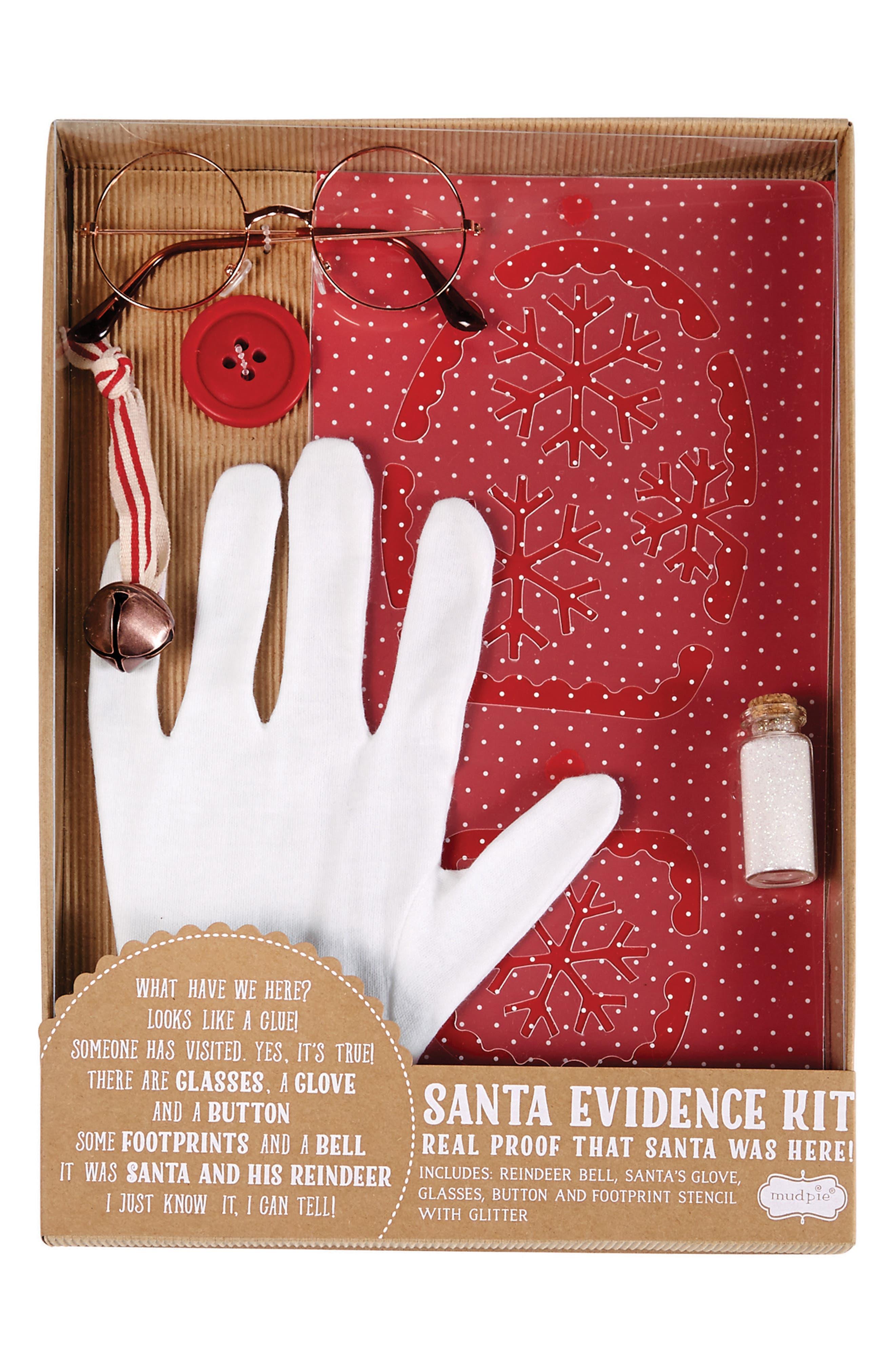 Santa Evidence Kit,                         Main,                         color, Red