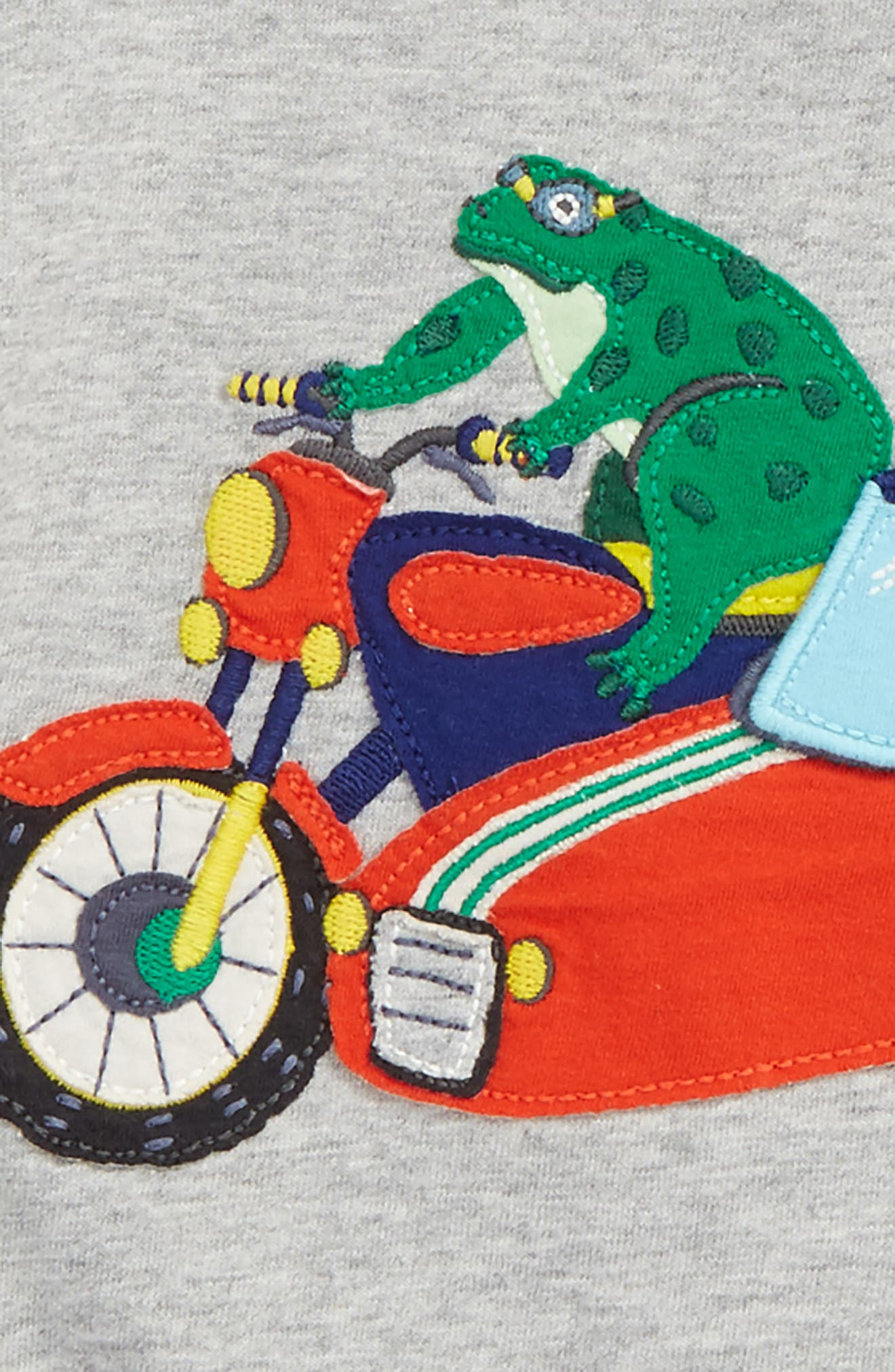 Alternate Image 2  - Mini Boden Novelty Vehicle T-Shirt (Toddler Boys, Little Boys & Big Boys)