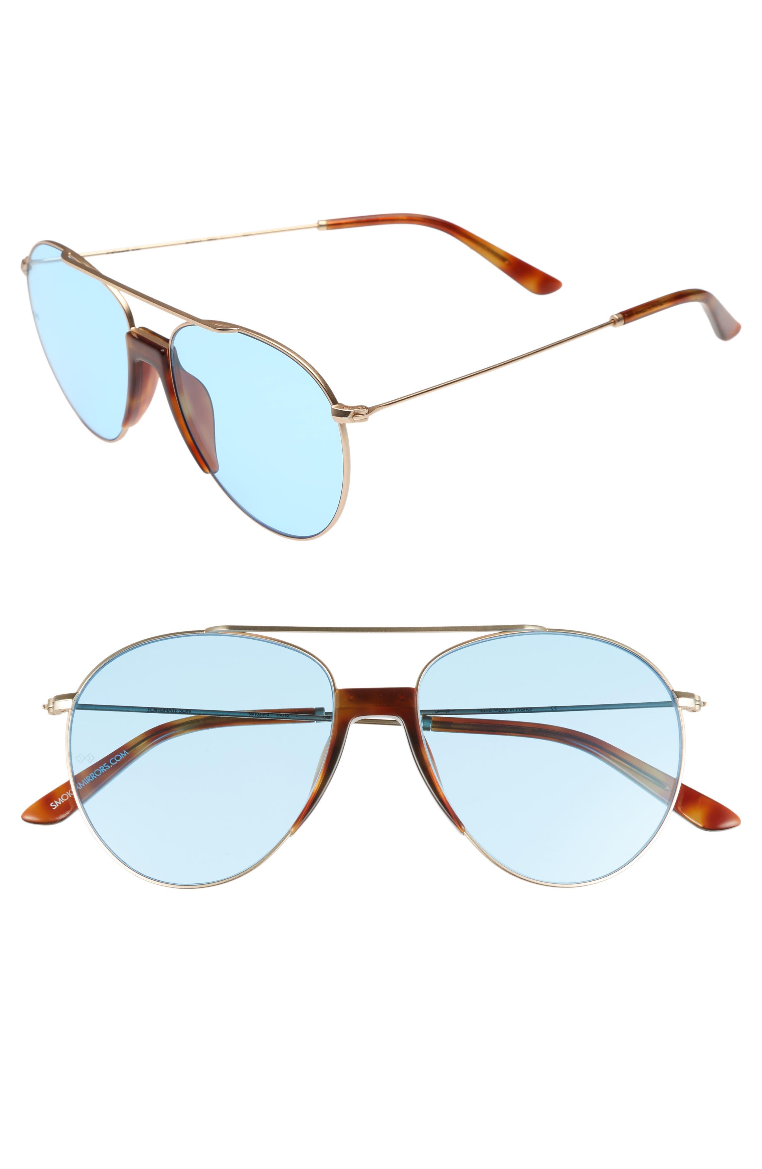 Smoke x Mirrors Fortunate Son 53mm Aviator Sunglasses
