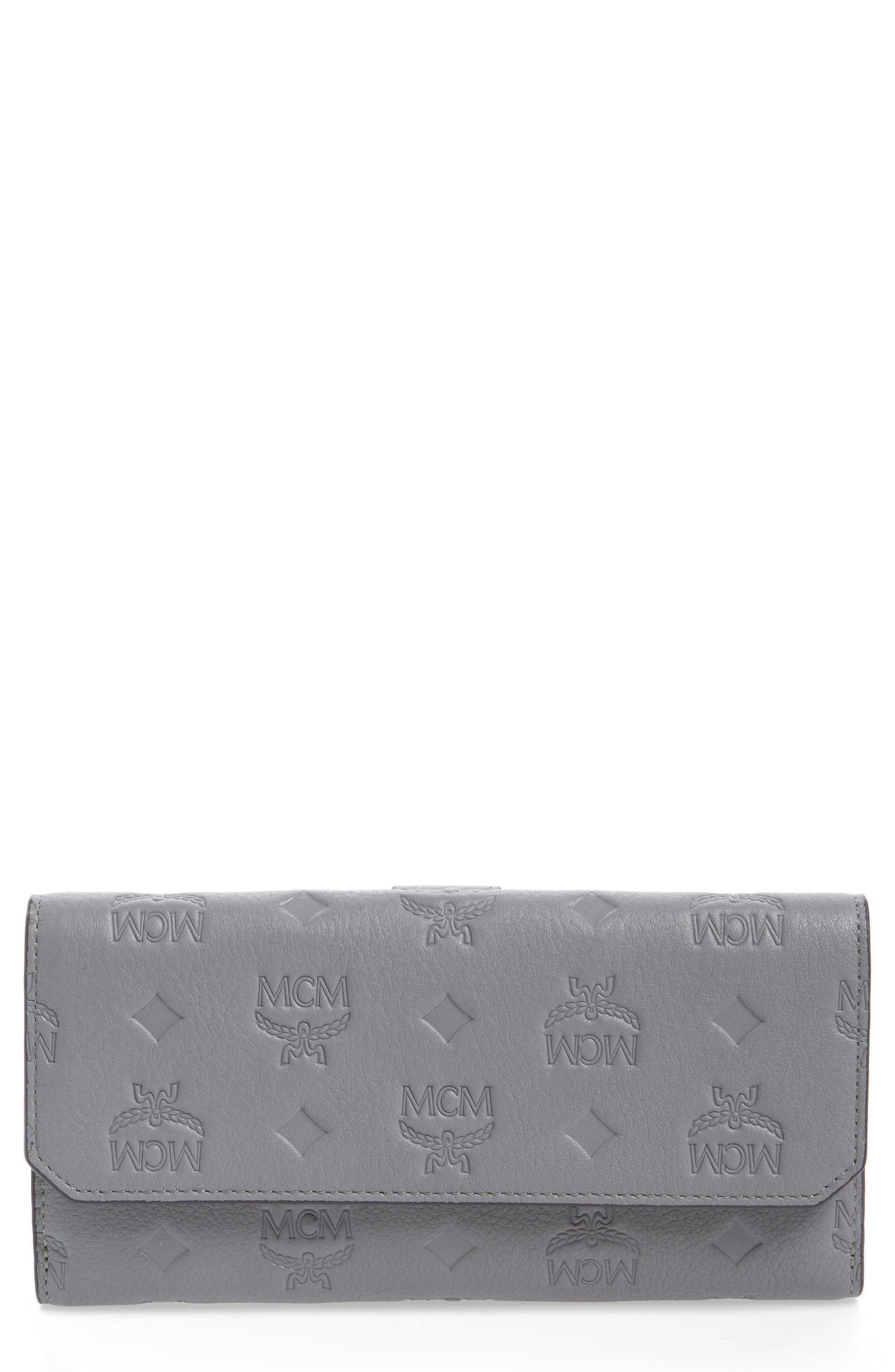 MCM Klara Leather Flap Wallet