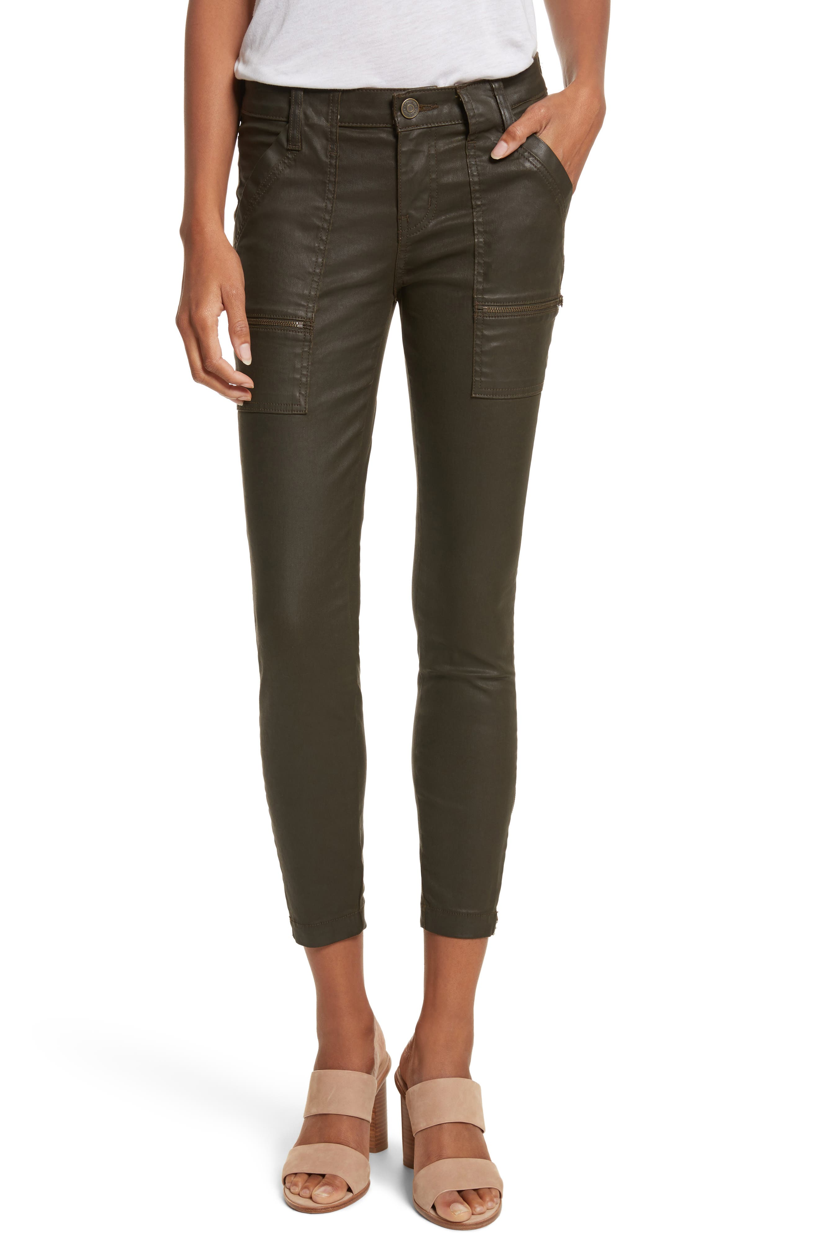 Joie Park B Coated Skinny Jeans