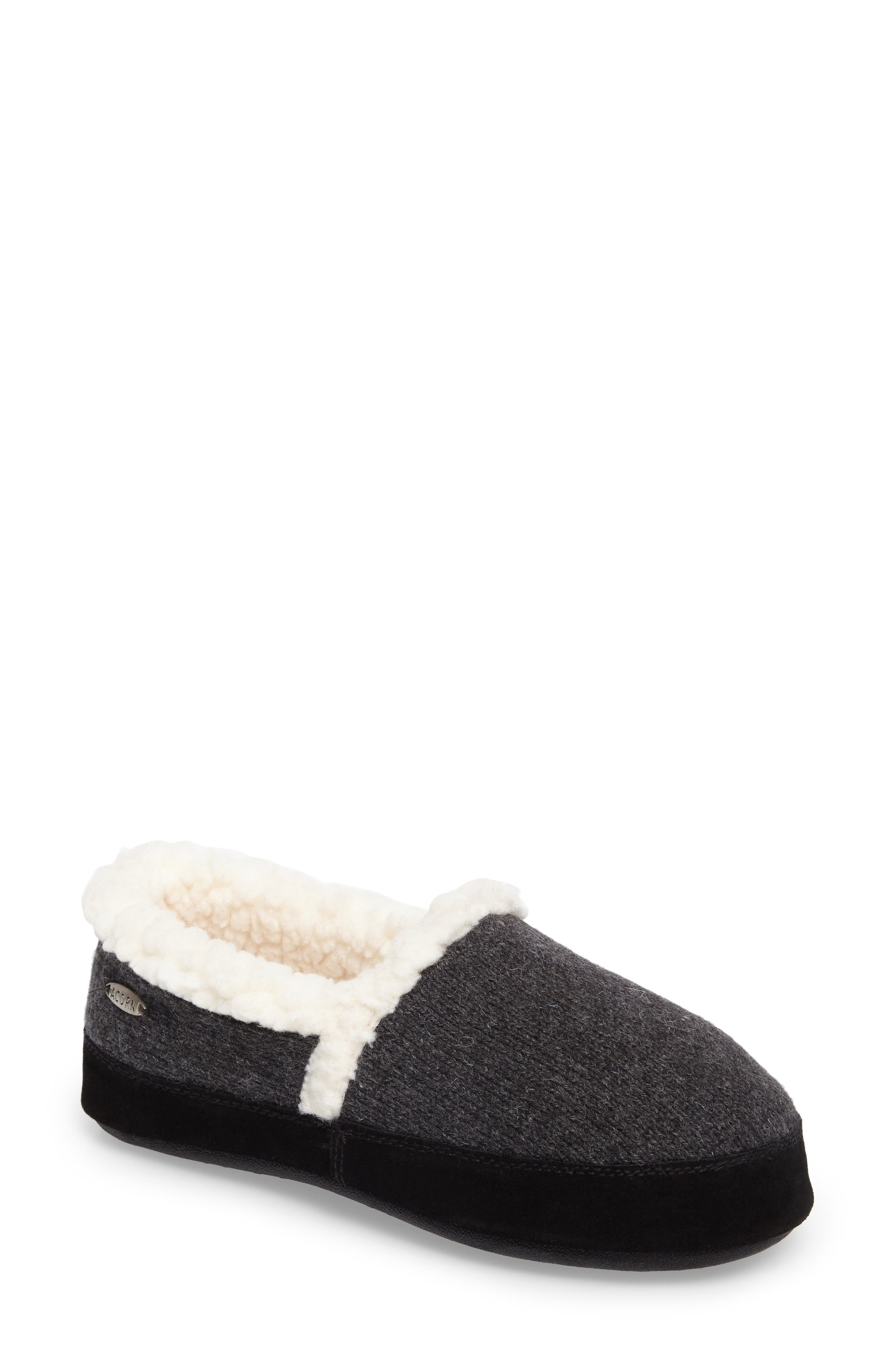 Main Image - Acorn Moc Ragg Slipper (Women)