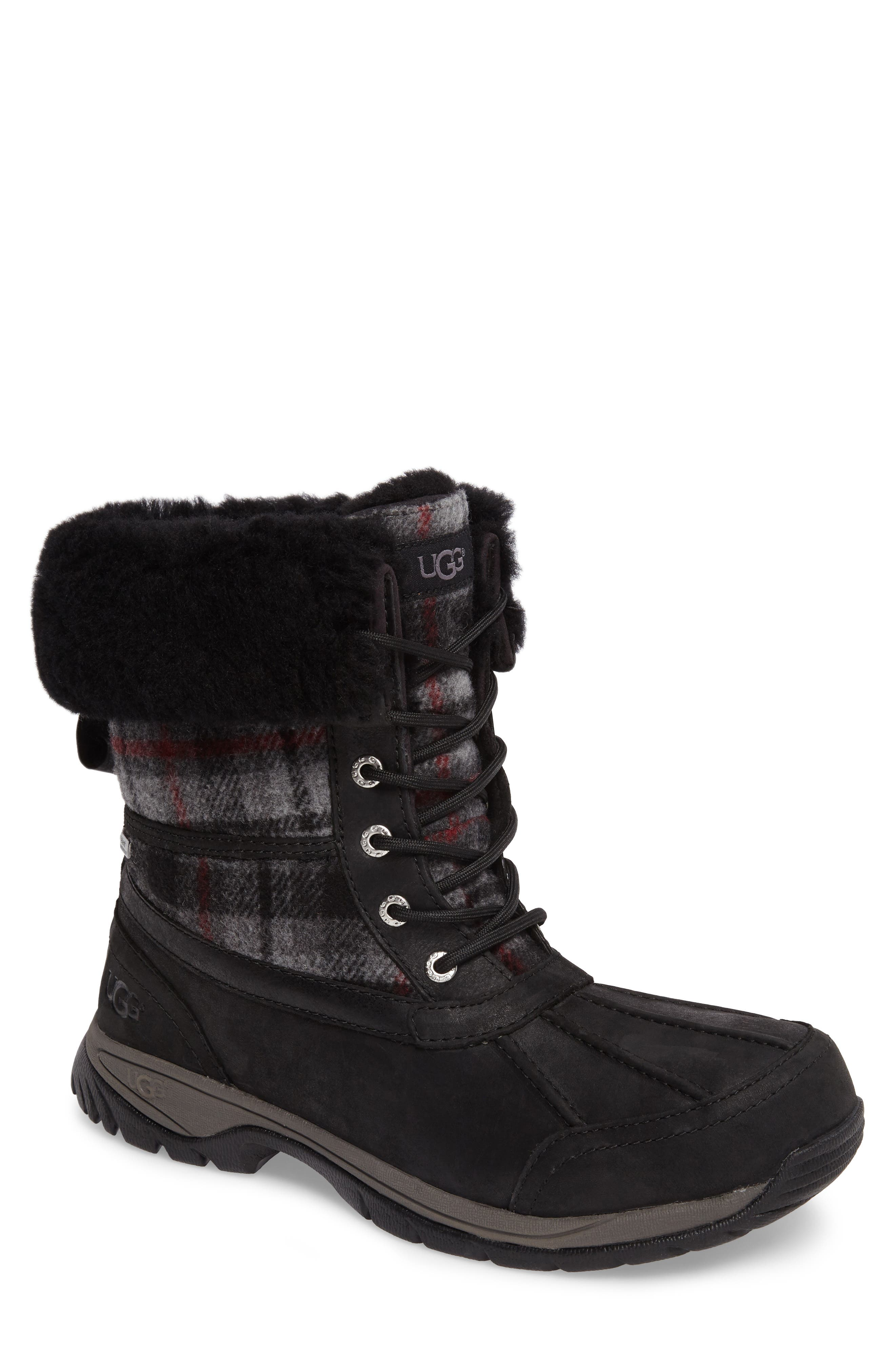 UGG® Butte Boot with Faux Fur Trim (Men)