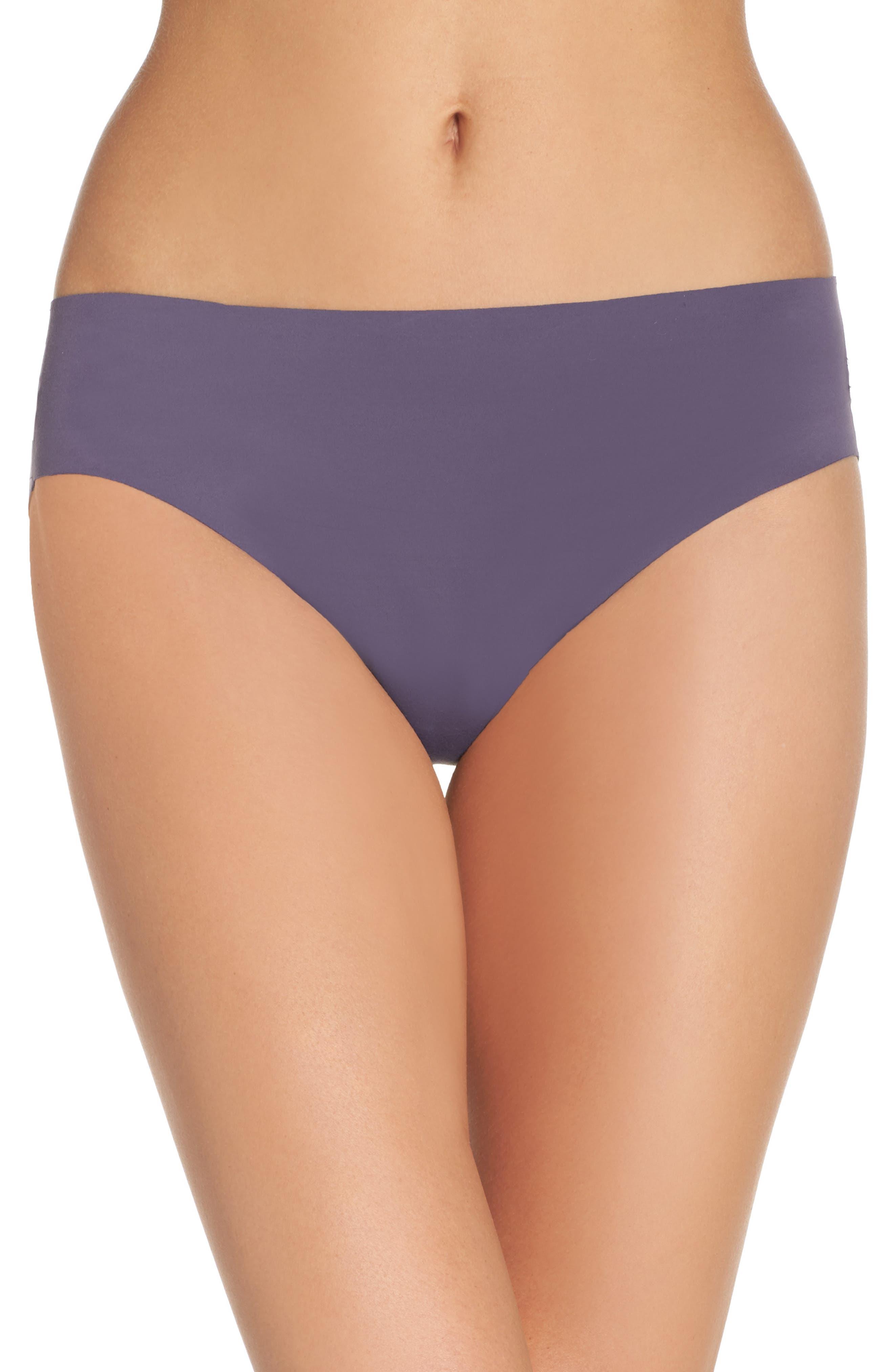 Undie-tectable B'tweenie Panty,                         Main,                         color, Oxidized Purple