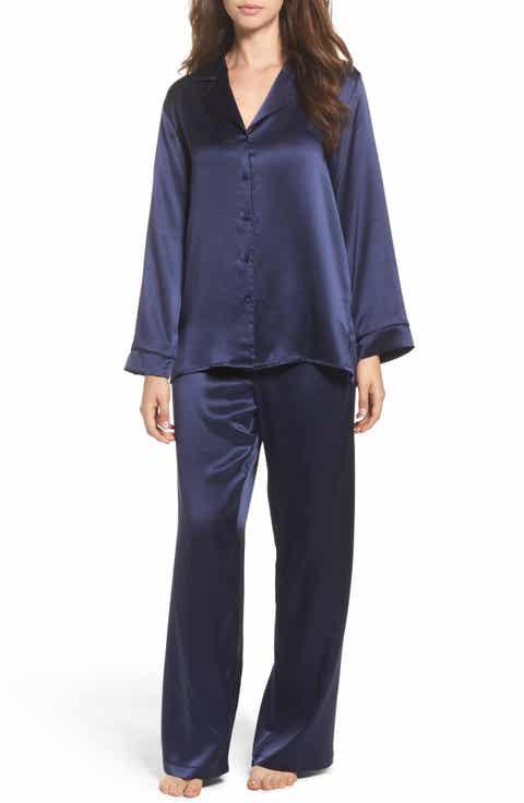 Christine Lingerie Silk Pajamas