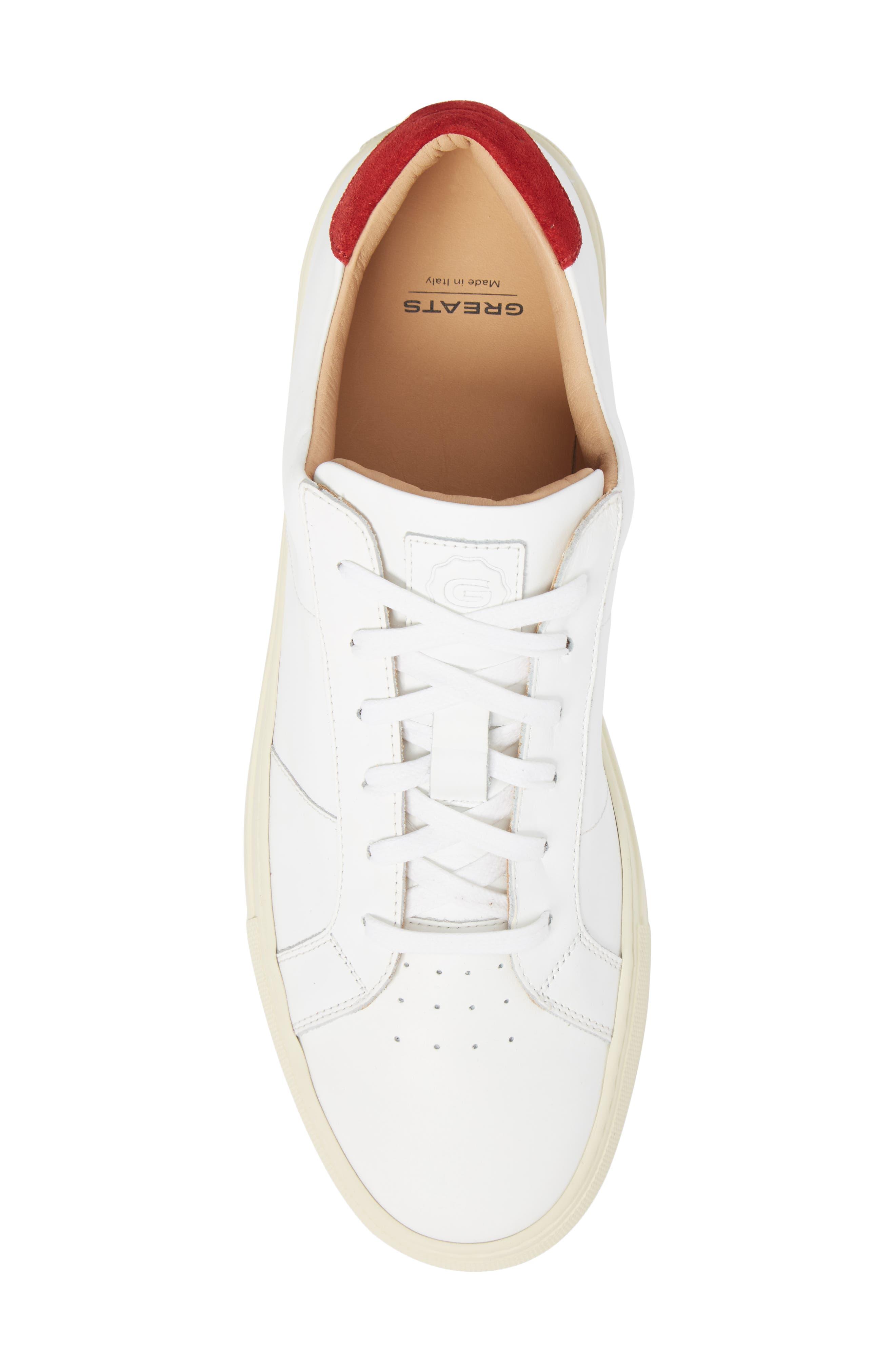 Alternate Image 5  - Greats Royale Vintage Low Top Sneaker (Men) (Nordstrom Exclusive)