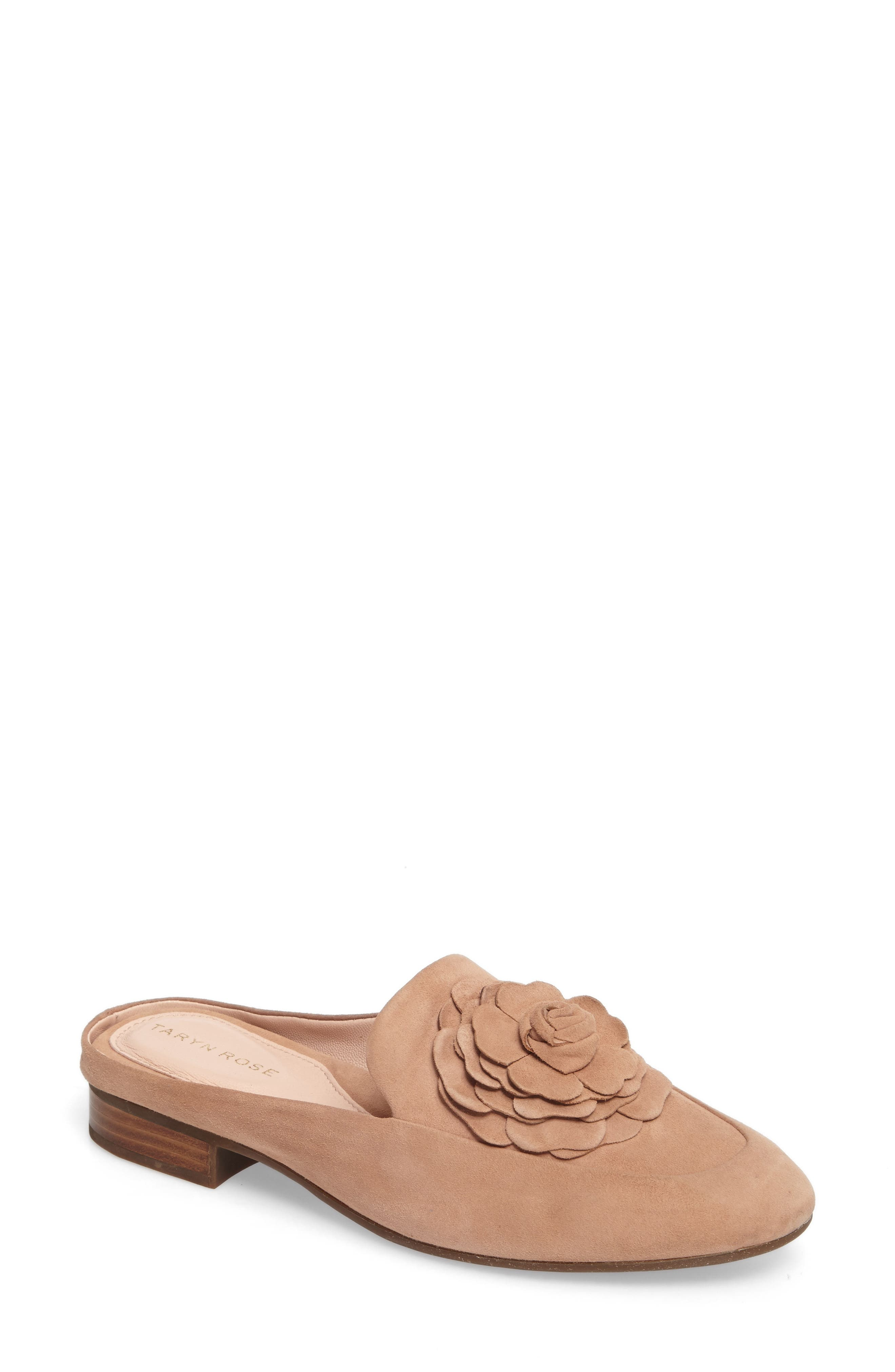 Taryn Rose Dimensional Flower Mule (Women)