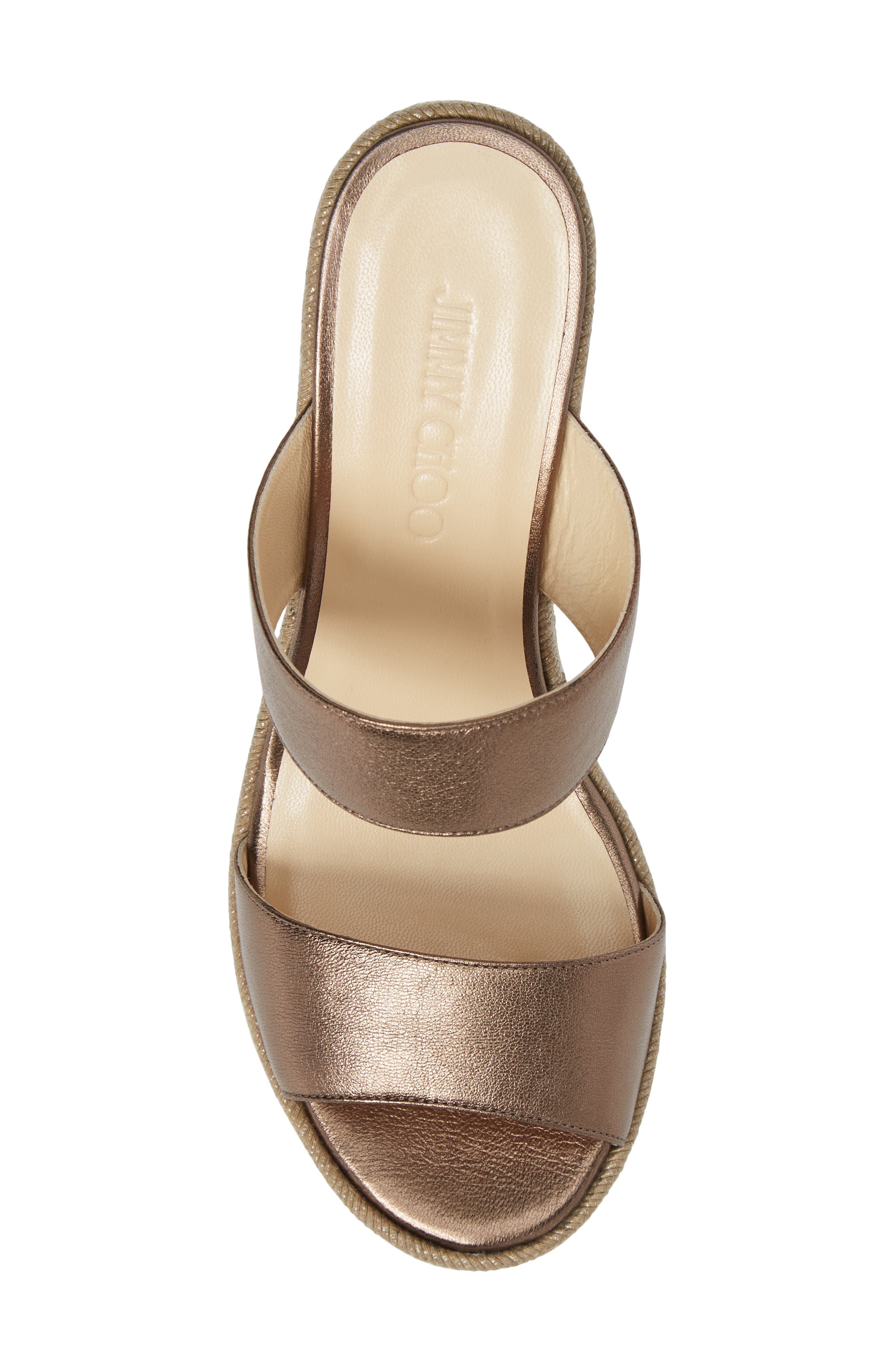 Alternate Image 5  - Jimmy Choo Parker Wedge Sandal (Women)