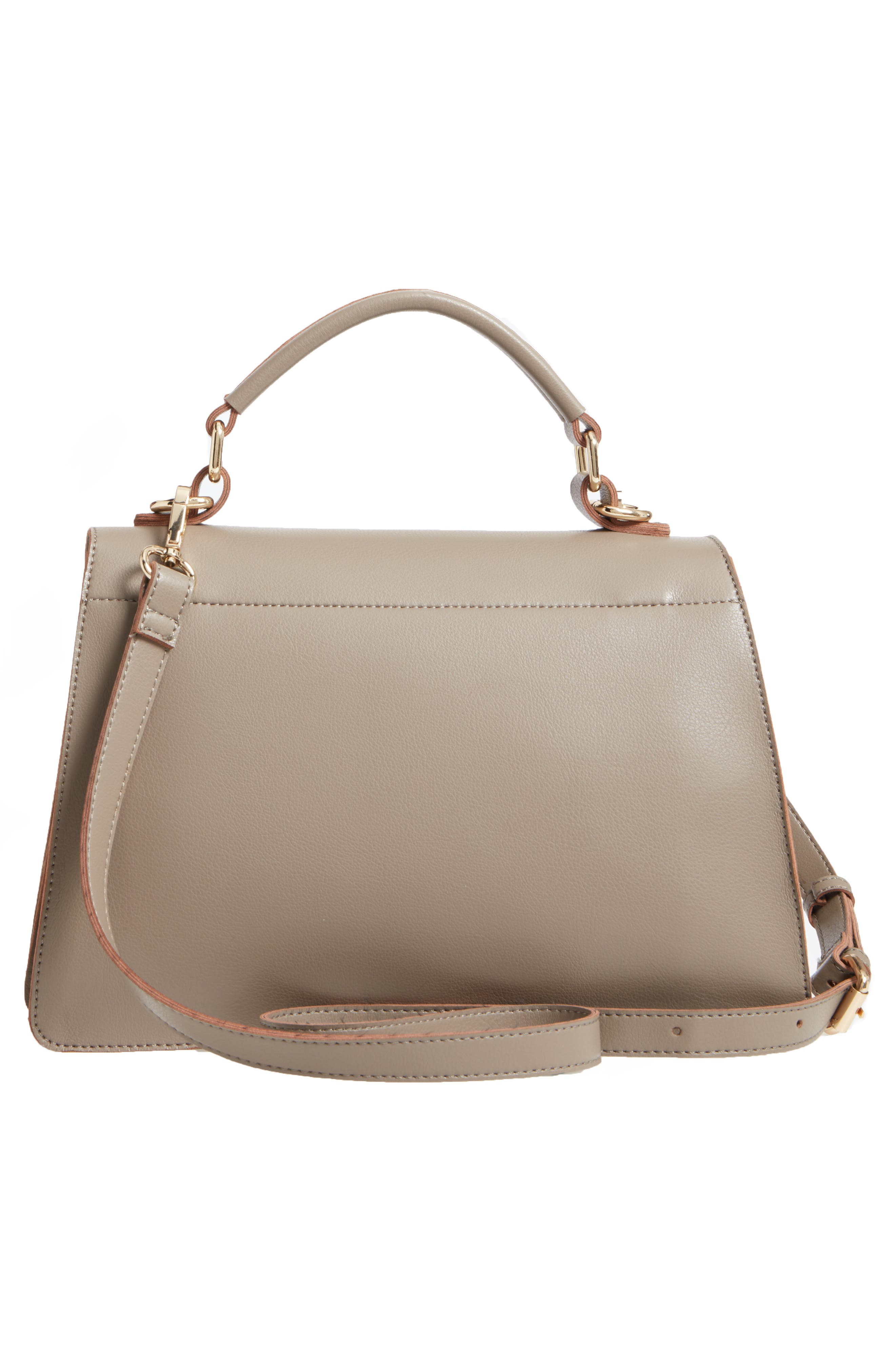 Alternate Image 2  - Sole Society Izzy Faux Leather Top Handle Satchel